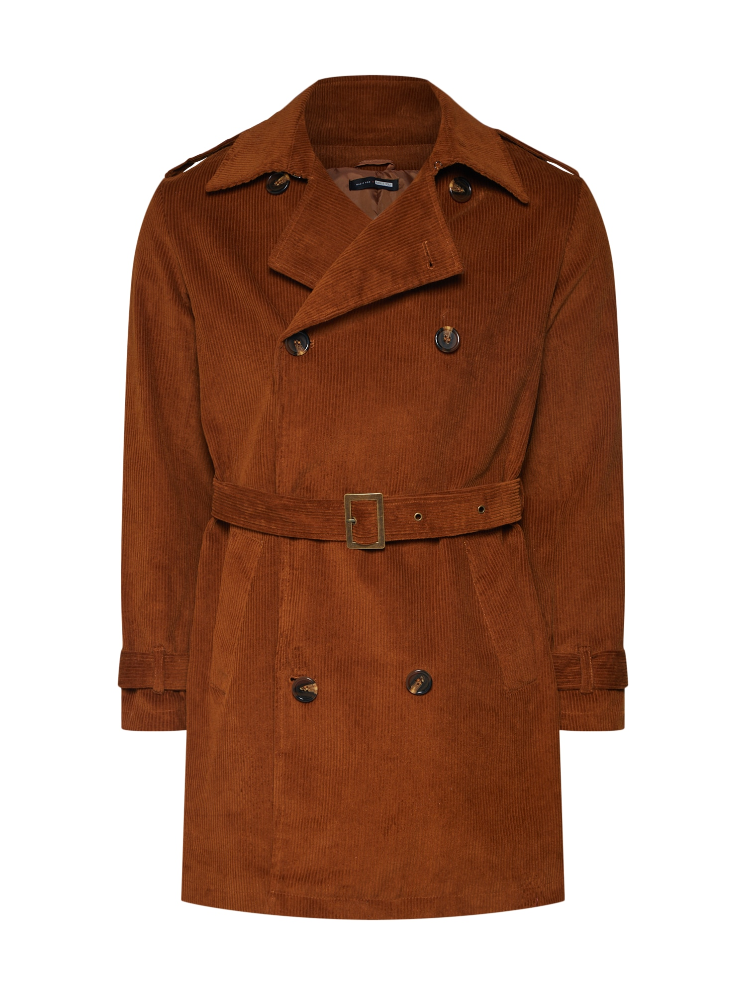 ABOUT YOU x Magic Fox Rudeninis-žieminis paltas 'Colin' ruda (konjako)