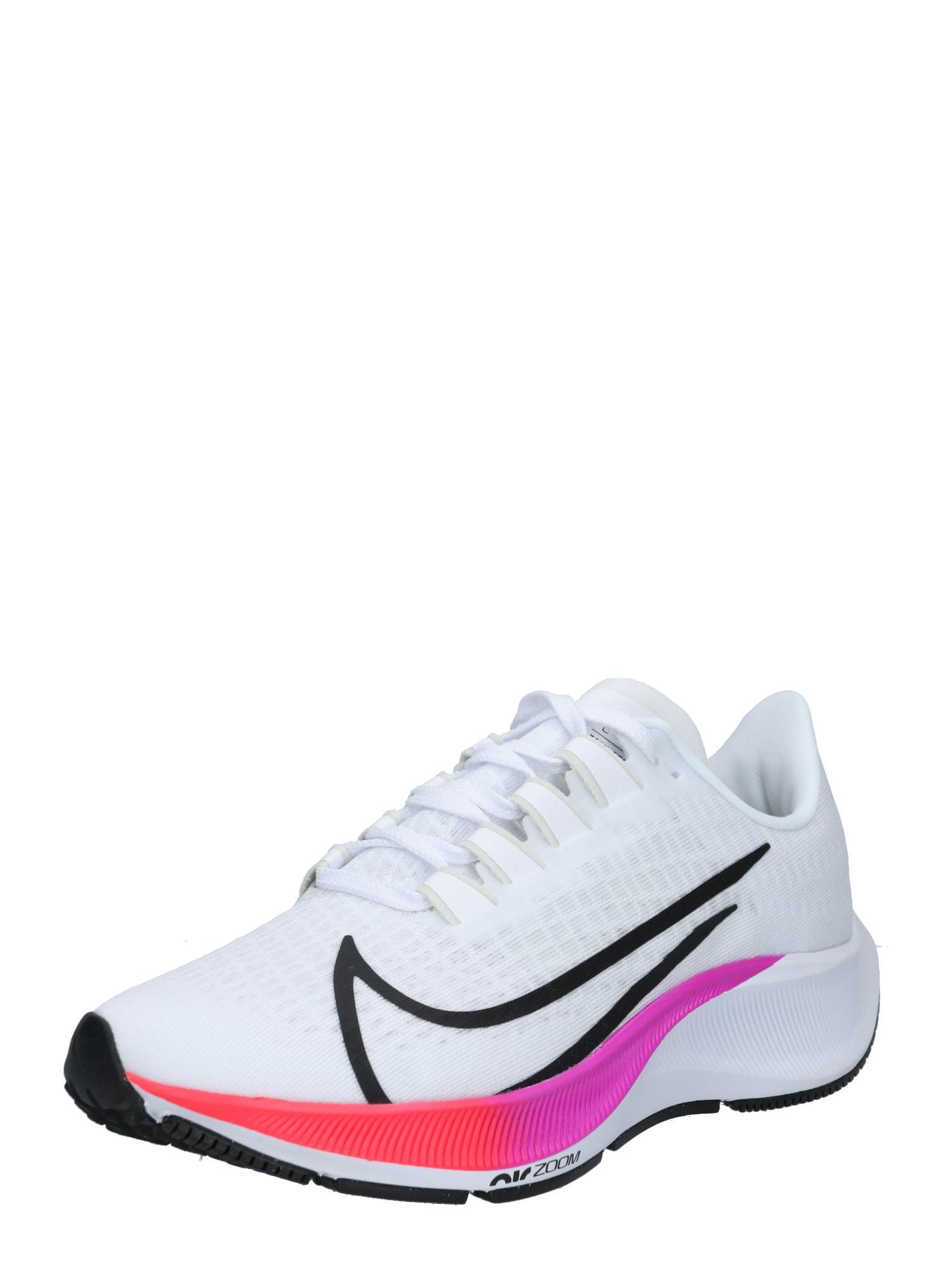NIKE Běžecká obuv 'Air Zoom Pegasus 37'  bílá / černá