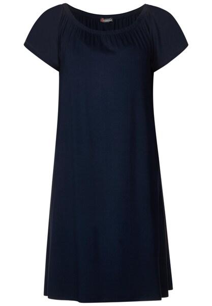 Kleider für Frauen - STREET ONE Kleid 'Carmen' nachtblau  - Onlineshop ABOUT YOU