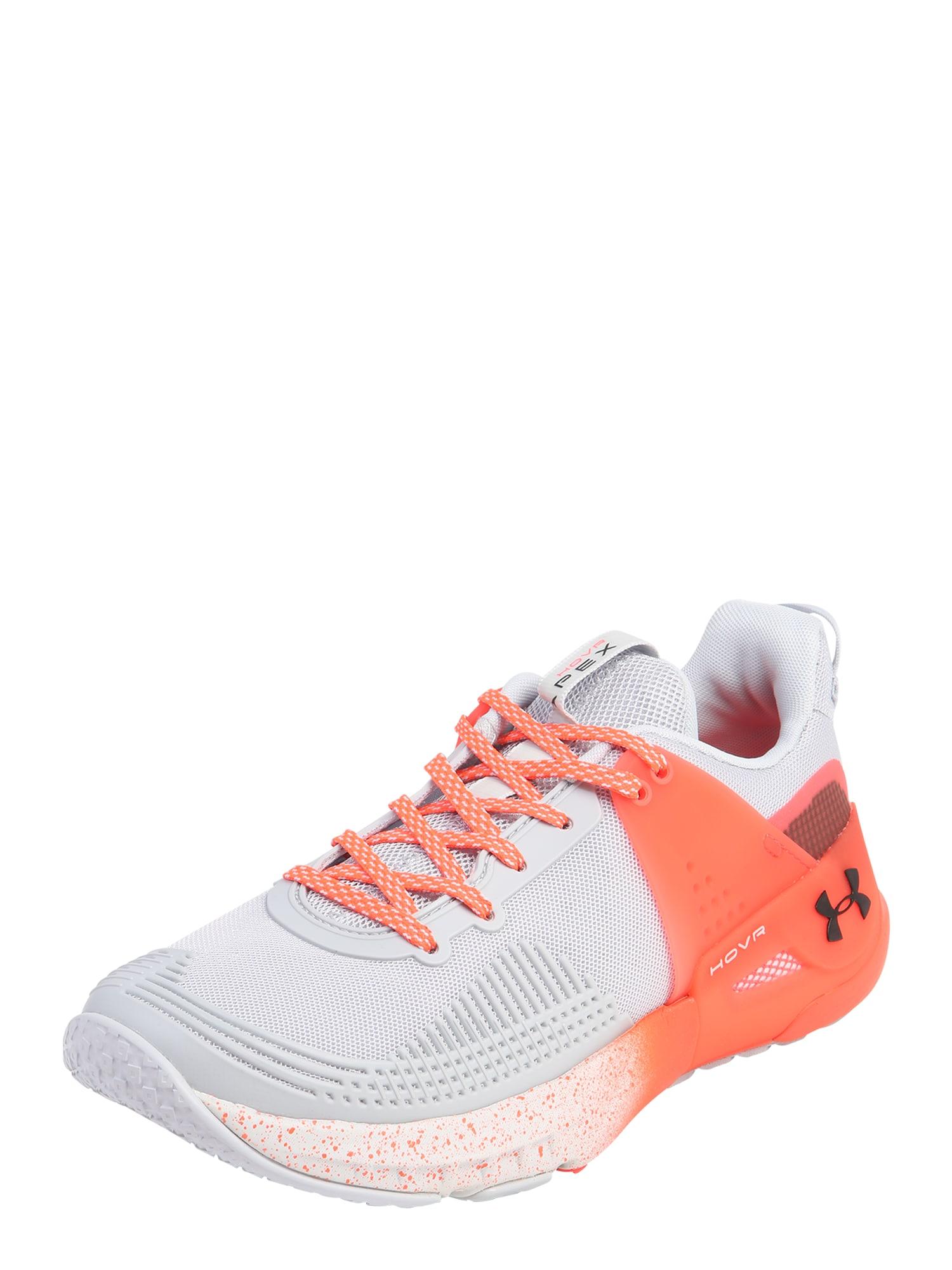 UNDER ARMOUR Sportiniai batai 'UA W HOVR Apex' koralų splava / balta