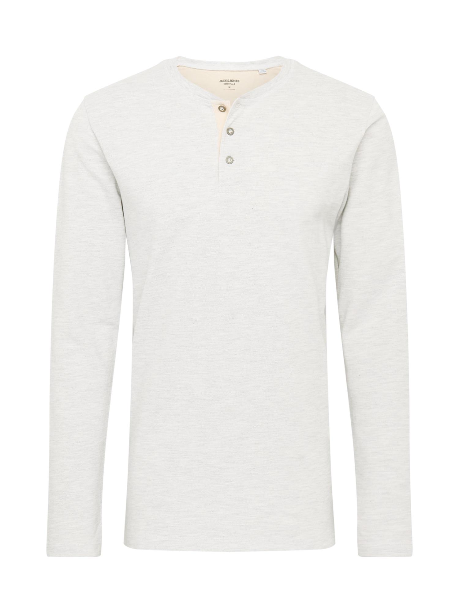 JACK & JONES Marškinėliai natūrali balta