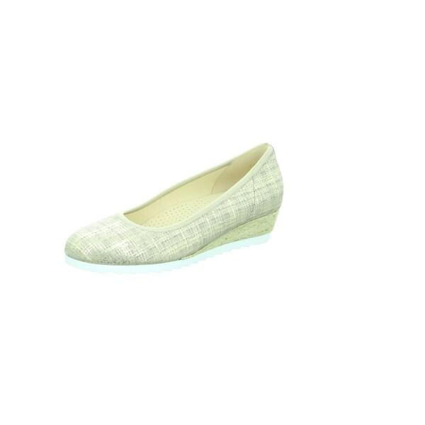 Ballerinas - Ballerinas › Gabor › beige dunkelbeige silber  - Onlineshop ABOUT YOU
