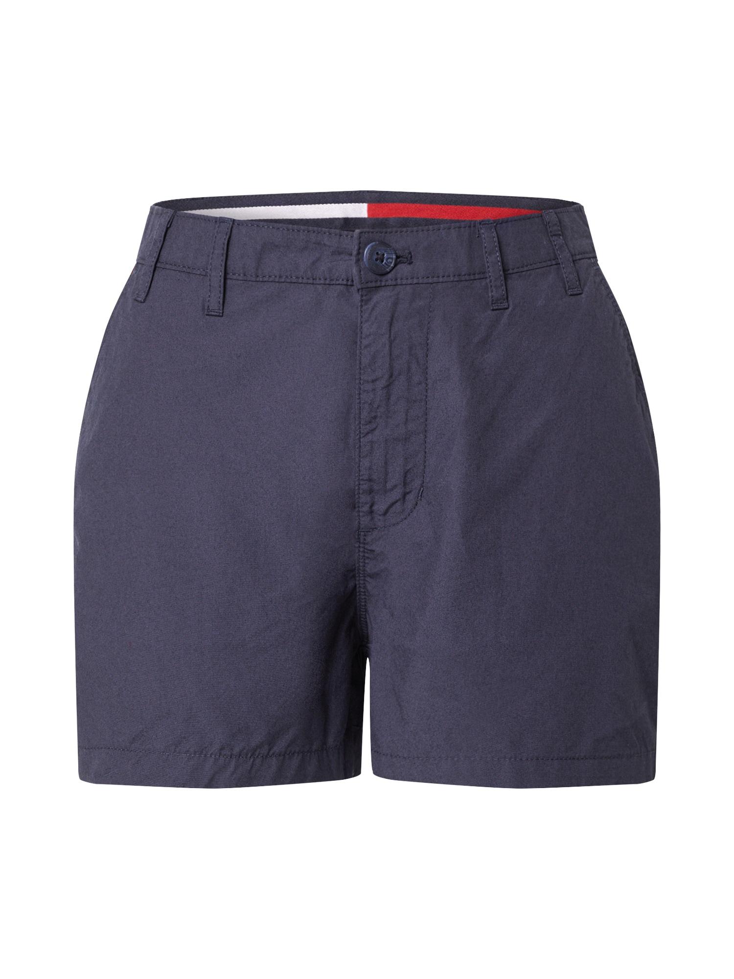 Tommy Jeans Chino nohavice 'TJW ESSENTIAL CHINO SHORT'  námornícka modrá