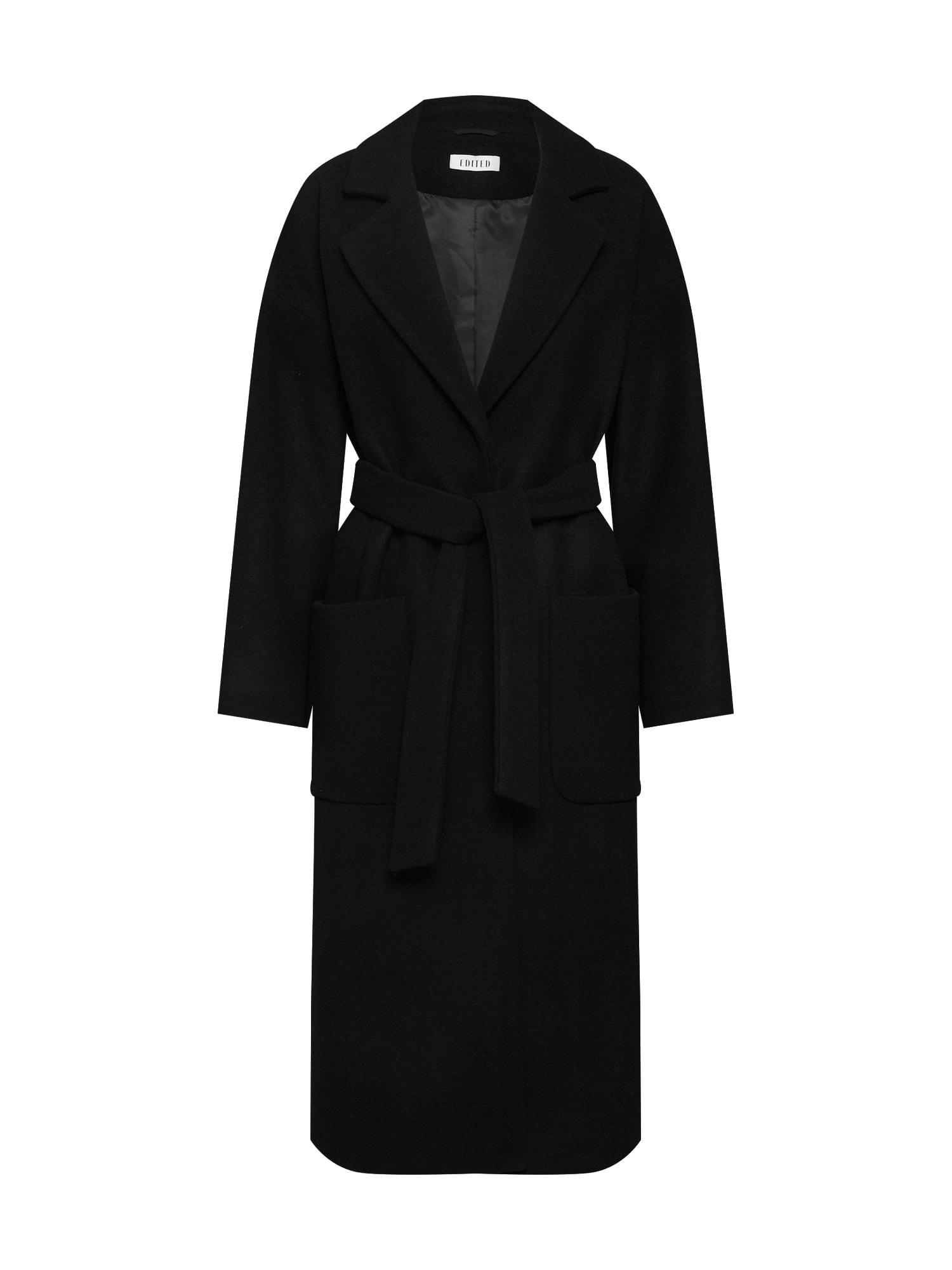 EDITED Rudeninis-žieminis paltas 'Santo' juoda