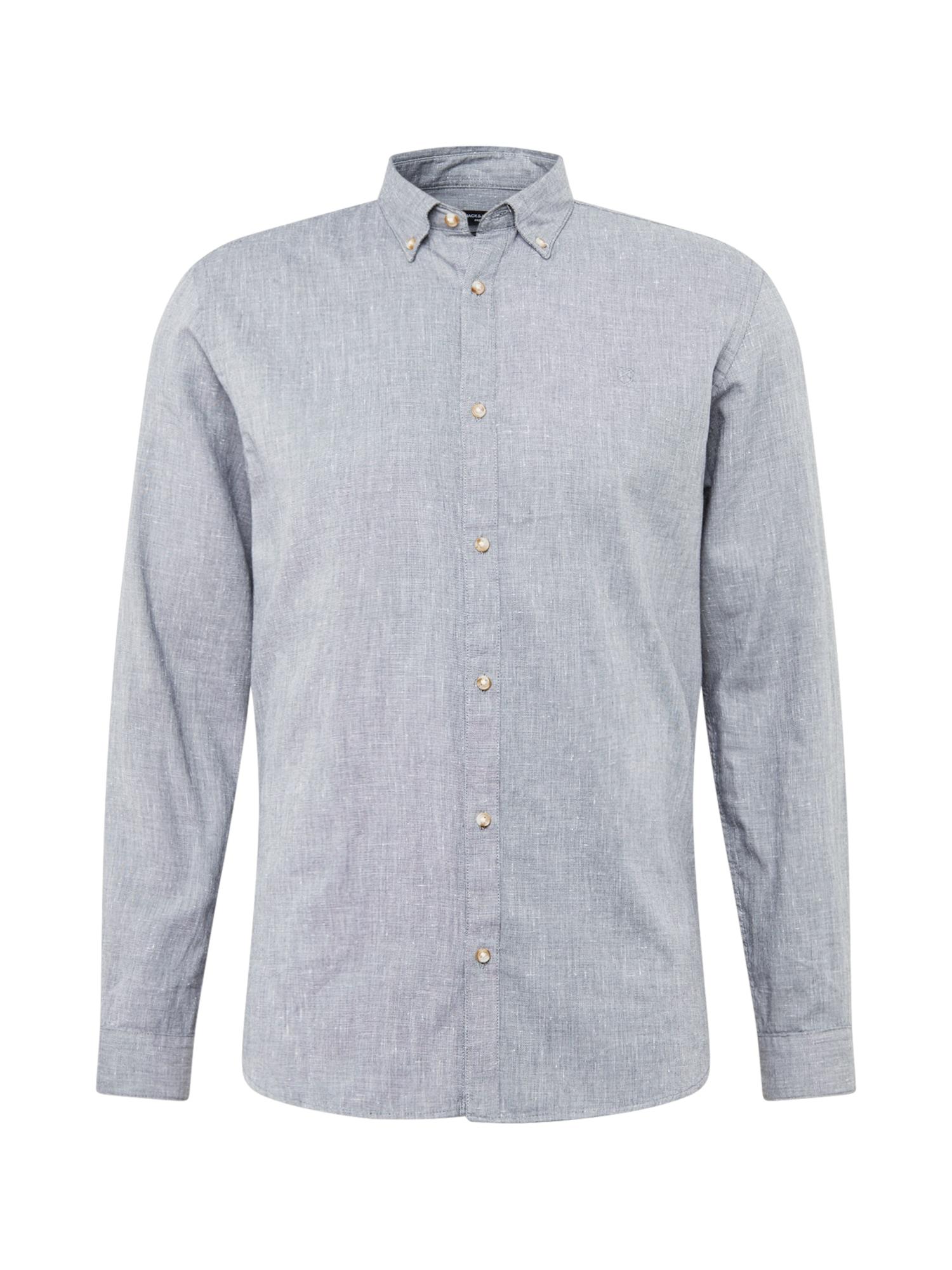 JACK & JONES Marškiniai pilka