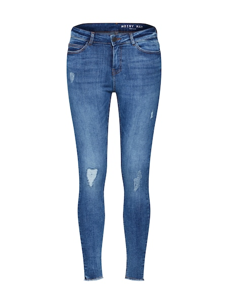 Hosen für Frauen - Jeans 'nmlucy NW skinny ankle DES JEANS' › Noisy May › blue denim  - Onlineshop ABOUT YOU