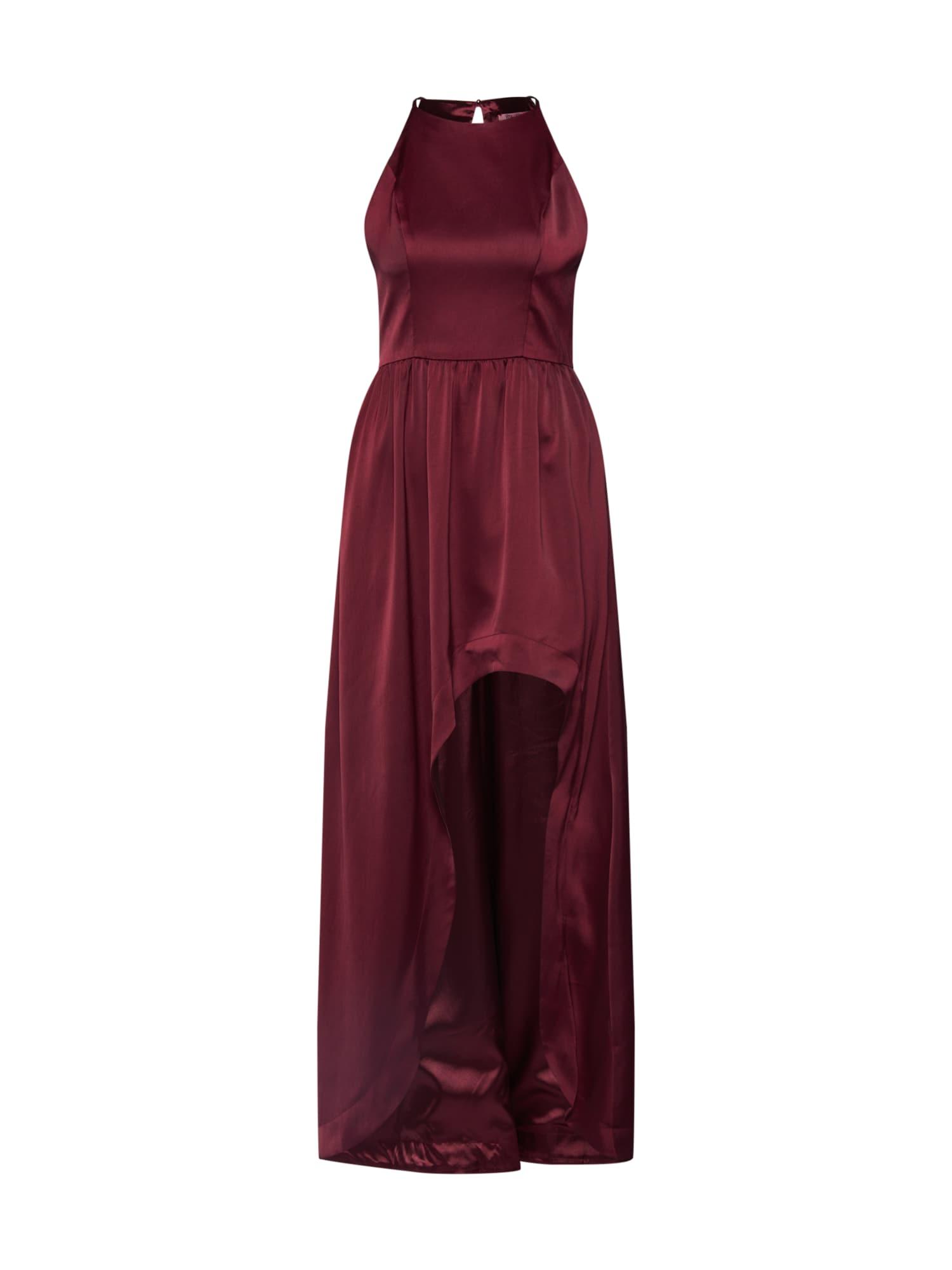 Chi Chi London Vakarinė suknelė 'Chi Chi Gul' vyšninė spalva