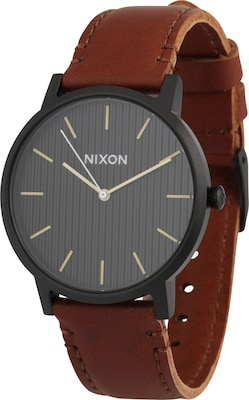 Nixon Armbanduhr 'Porter Leather'