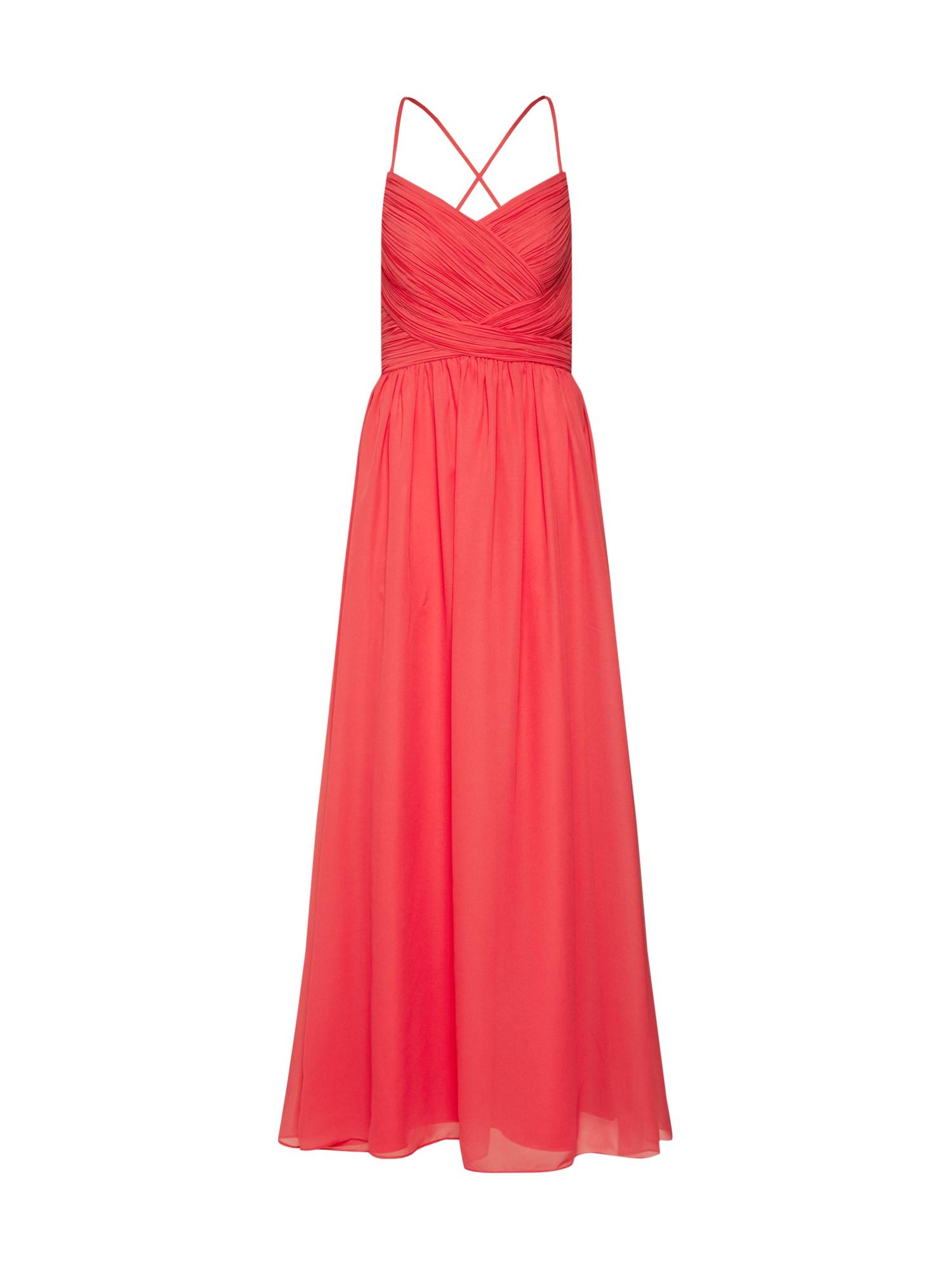 SWING Suknelė oranžinė-raudona