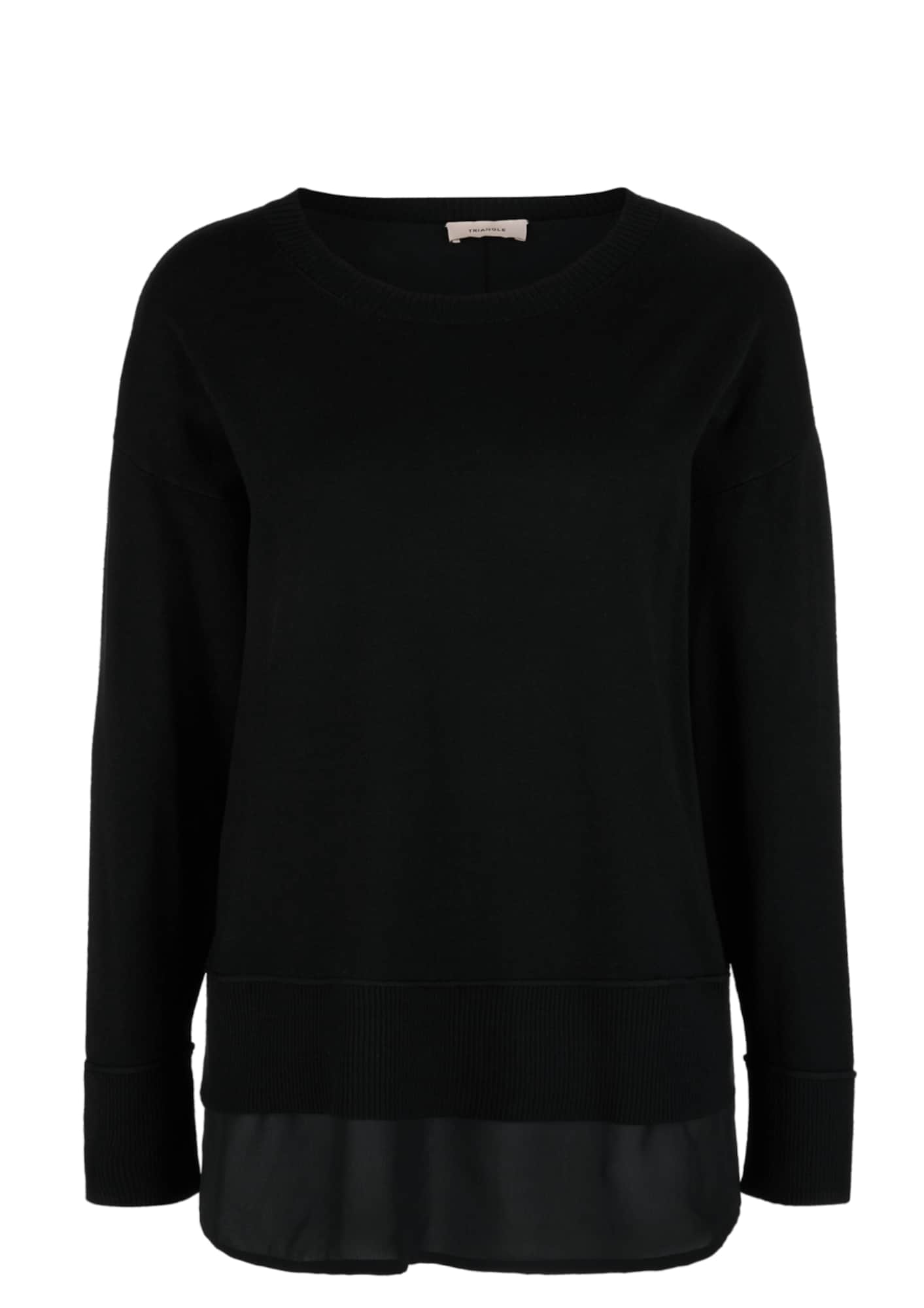 TRIANGLE Megztinis juoda
