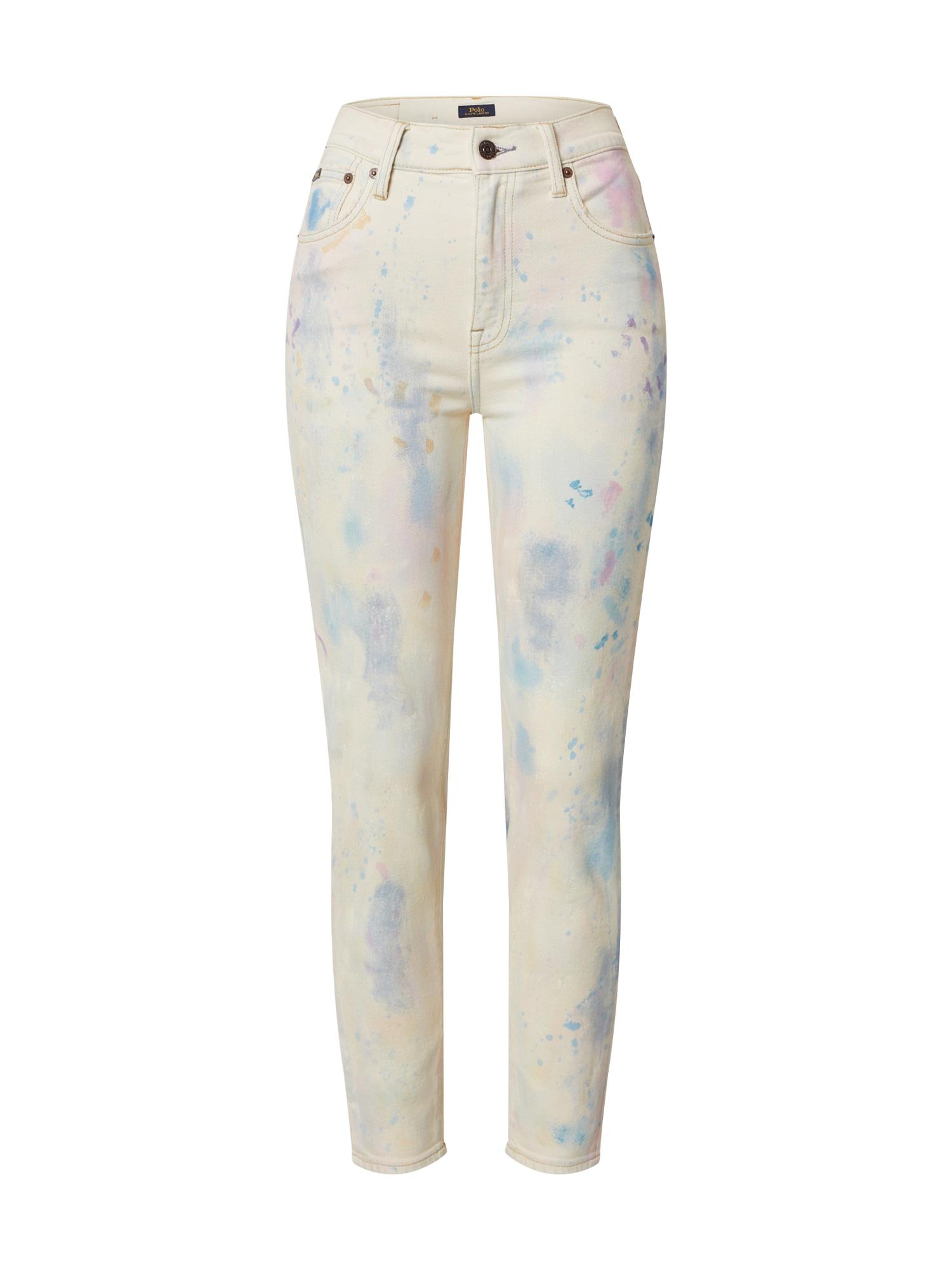 POLO RALPH LAUREN Džinsai balto džinso spalva
