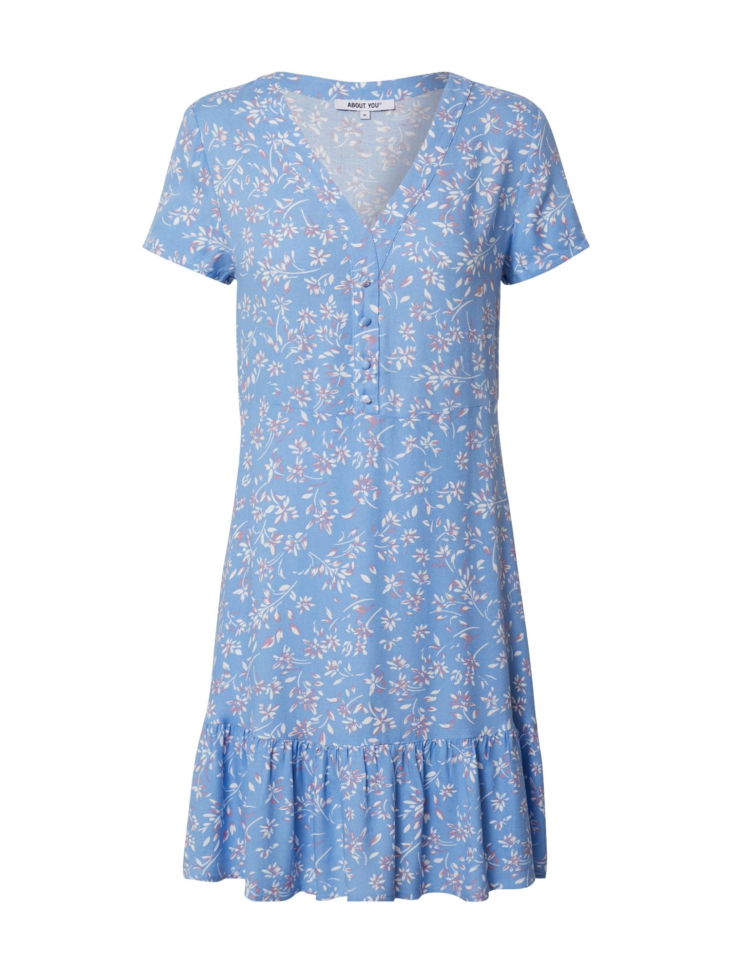 ABOUT YOU Vasarinė suknelė 'Joelle' mėlyna / mišrios spalvos