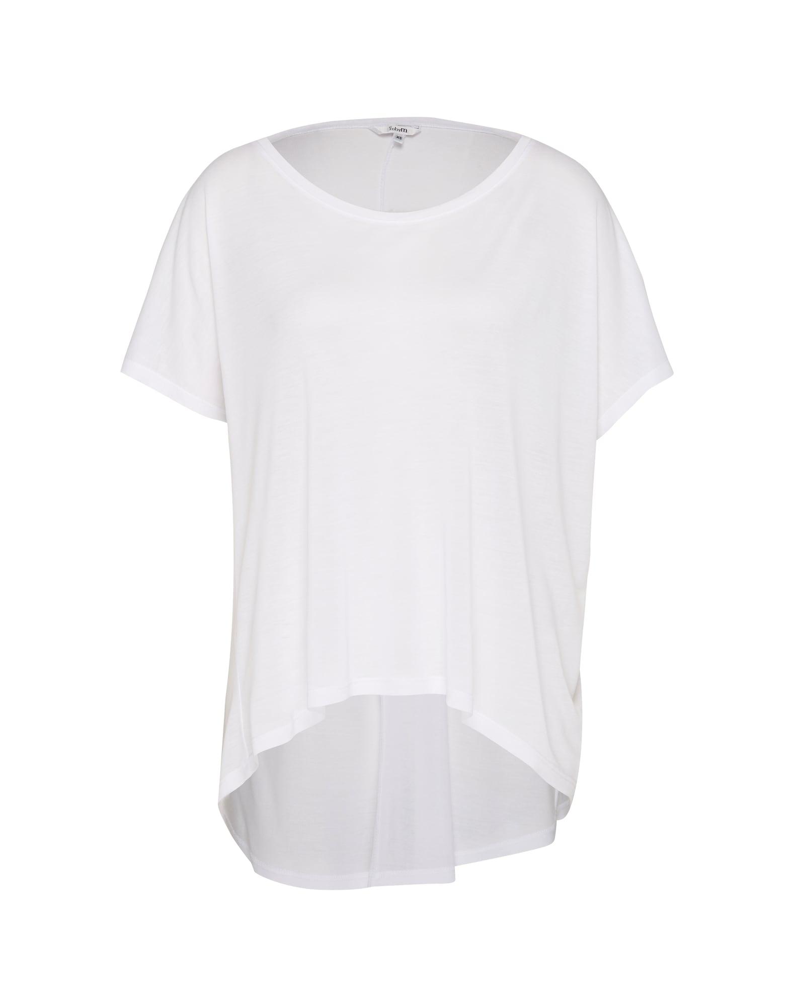 mbym Laisvi marškinėliai 'Proud' balta