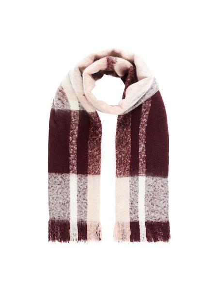 Schals für Frauen - VERO MODA Karierter Schal beige rot  - Onlineshop ABOUT YOU
