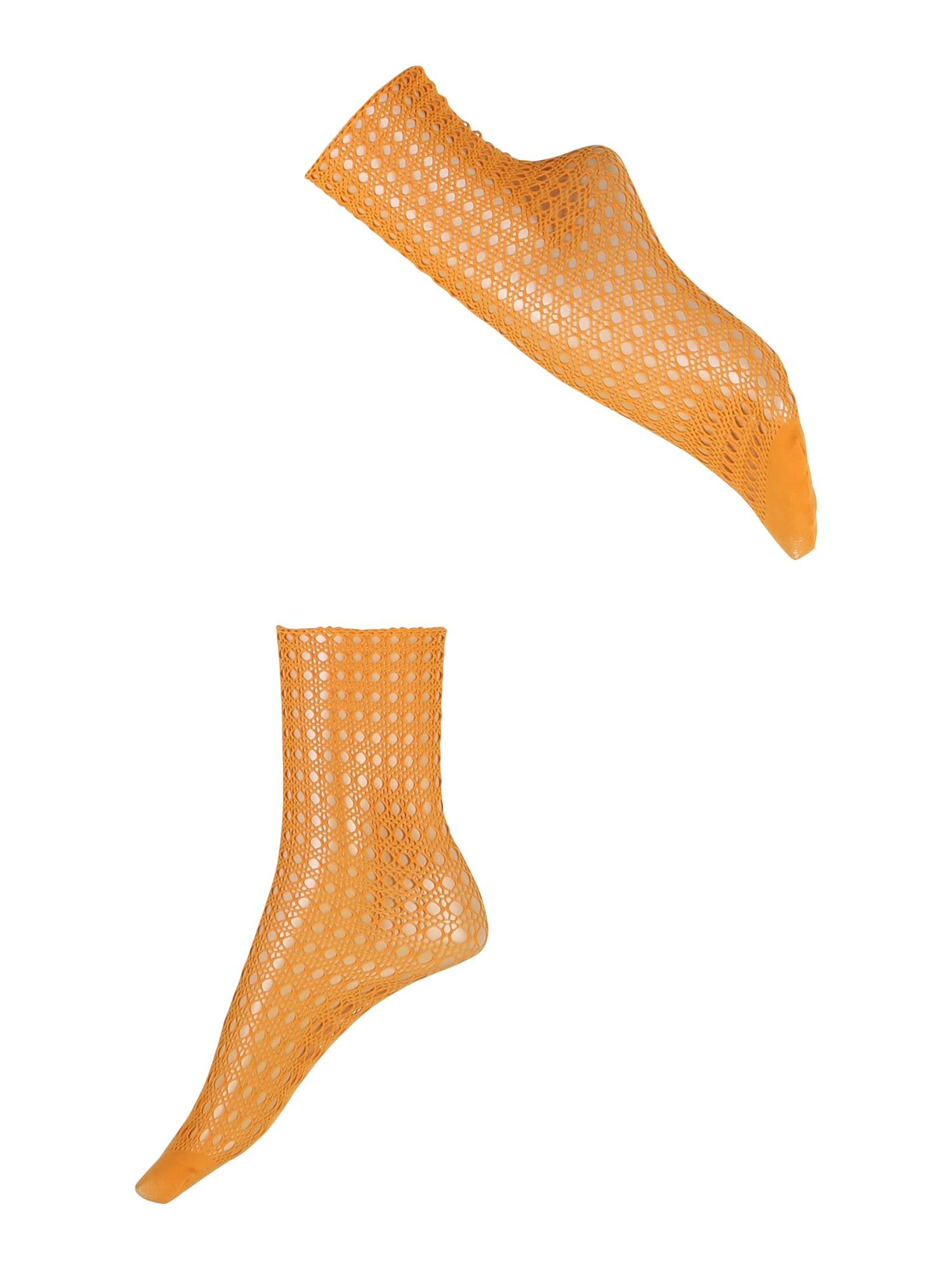 FALKE Kojinės 'Hamper SO' oranžinė