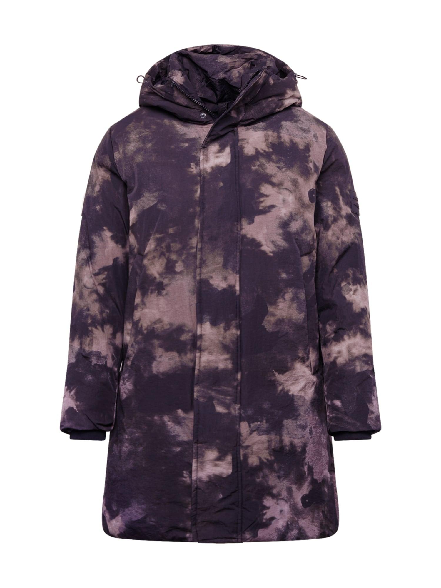 JACK & JONES Žieminis paltas juoda