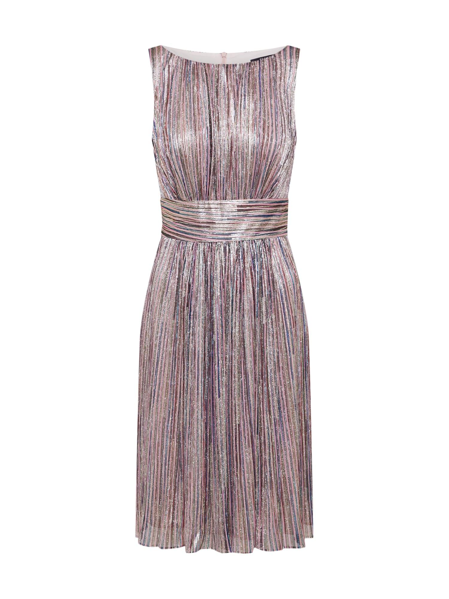 SWING Kokteilinė suknelė auksas / mišrios spalvos
