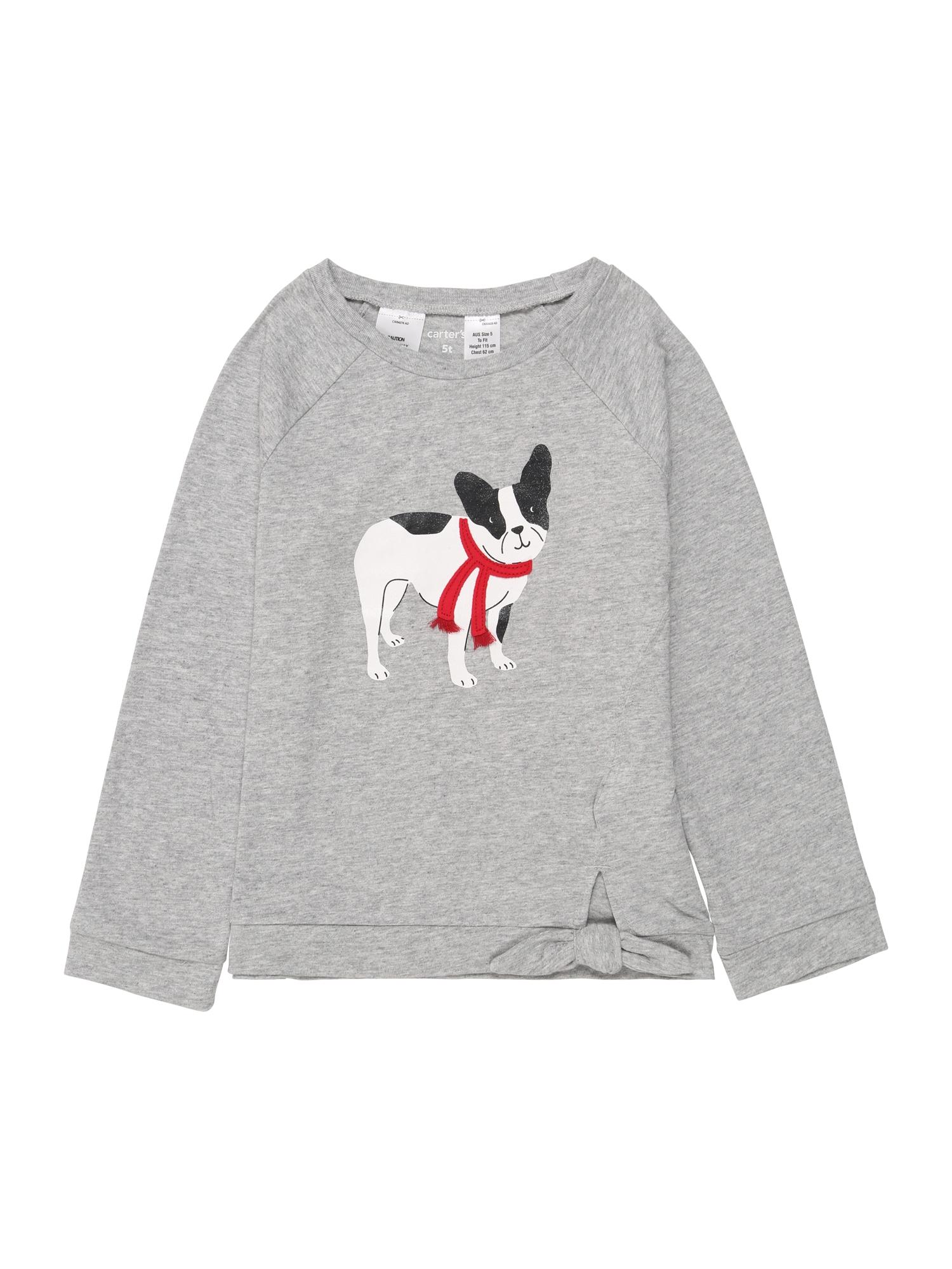 Carter's Marškinėliai 'FASHION TOP' pilka