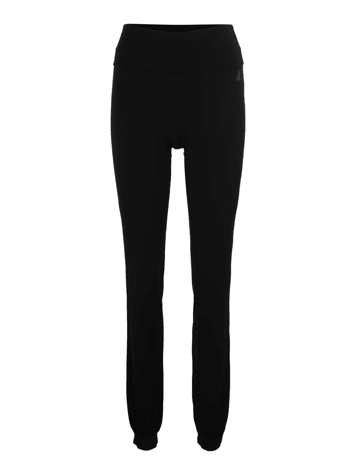 Sportovní kalhoty černá CURARE Yogawear