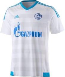 ADIDAS,ADIDAS PERFORMANCE Herren Schalke 04 15 15 Auswärts Fußballtrikot blau,weiß   04055014887600