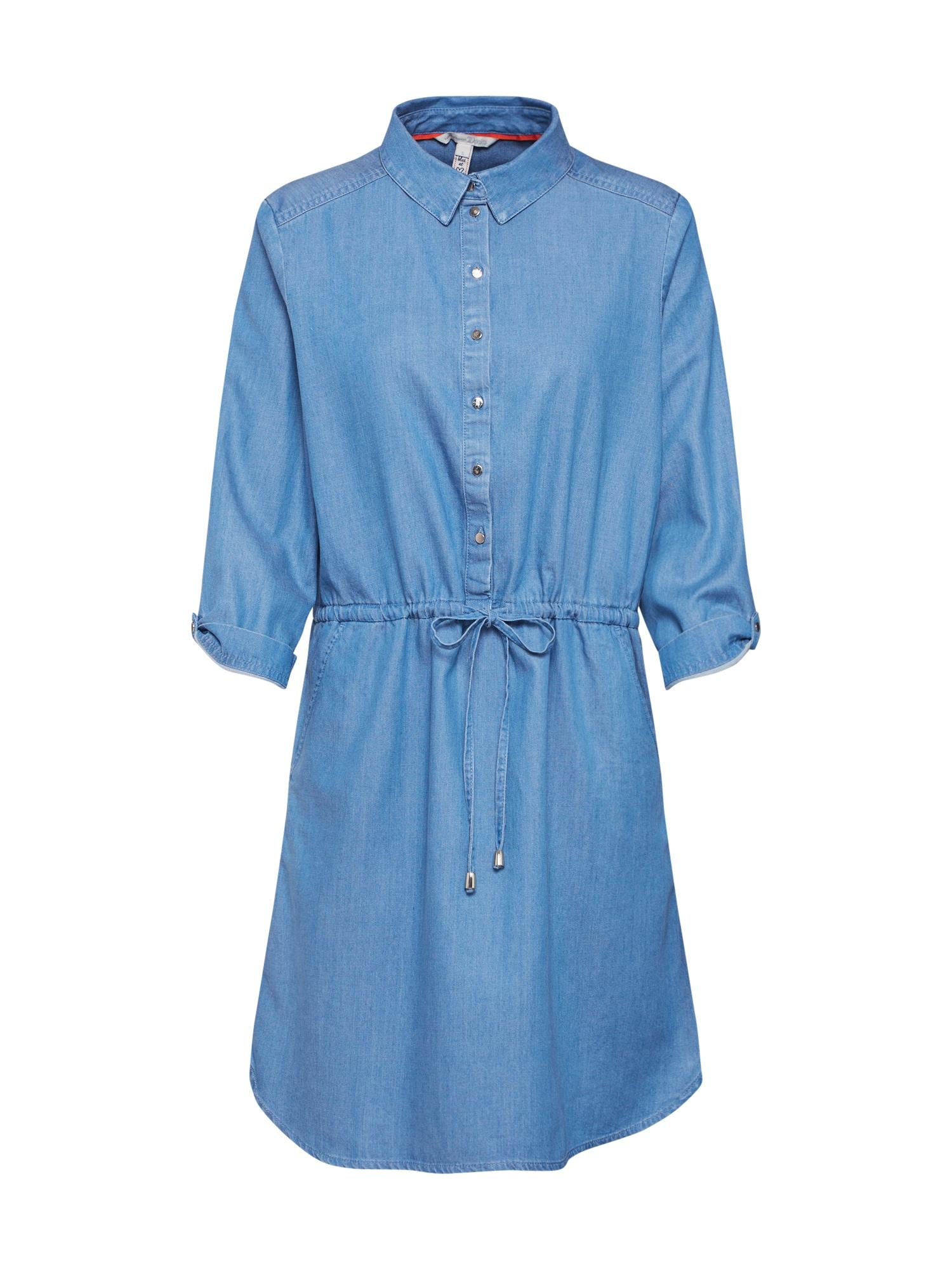 TOM TAILOR DENIM Rochie tip bluză  denim albastru