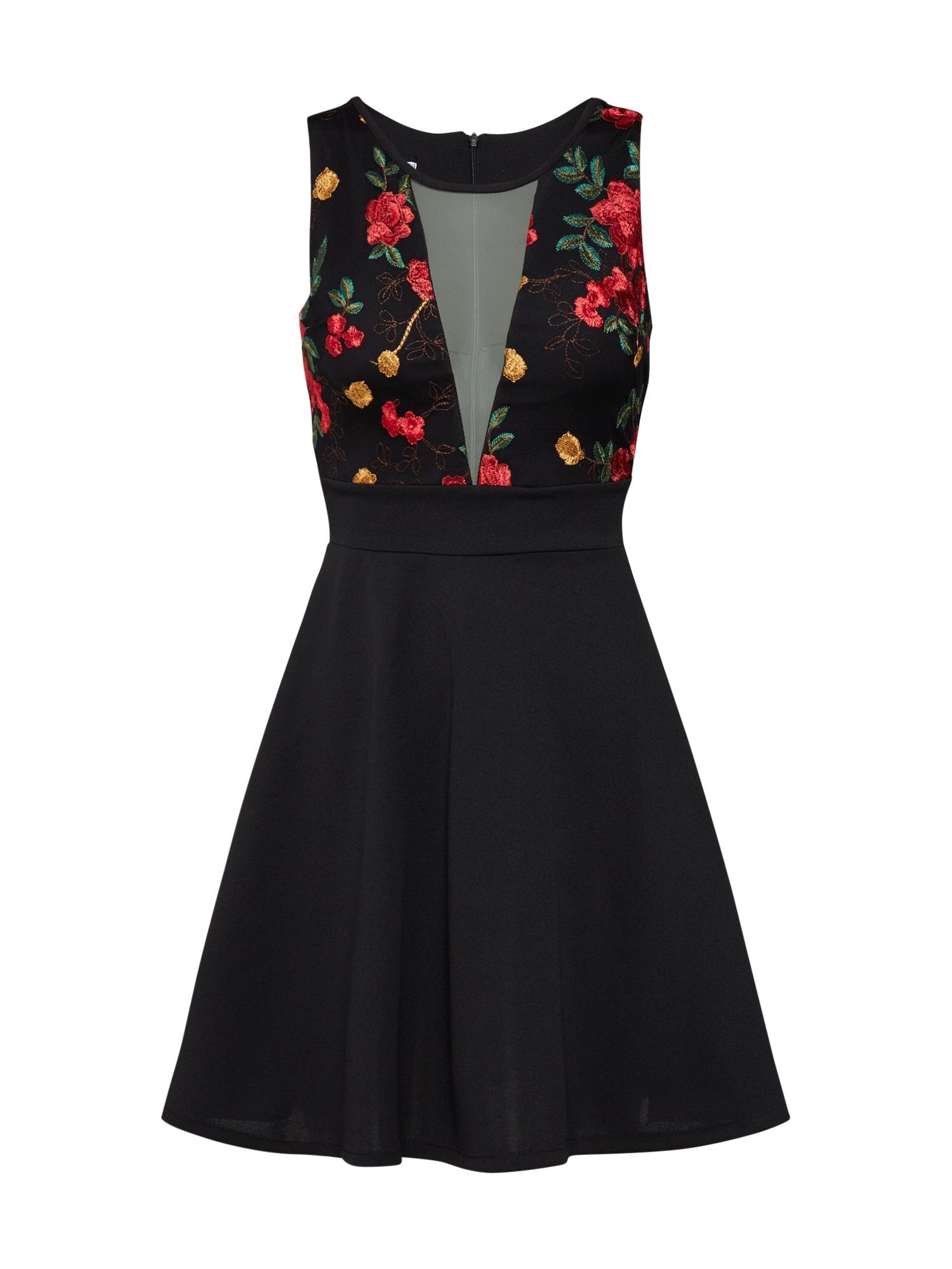 WAL G. Suknelė raudona / juoda
