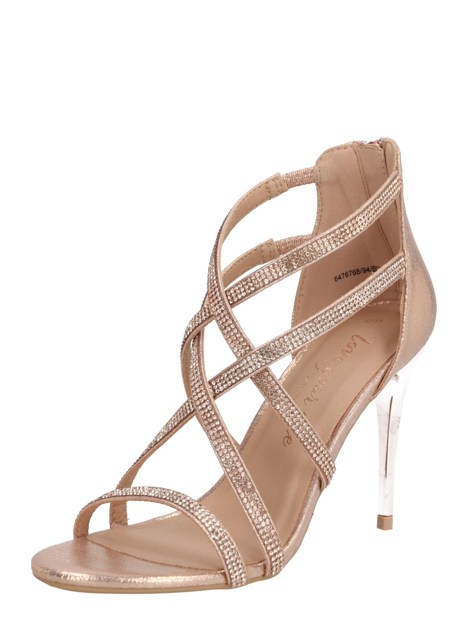 NEW LOOK Remienkové sandále  zlatá