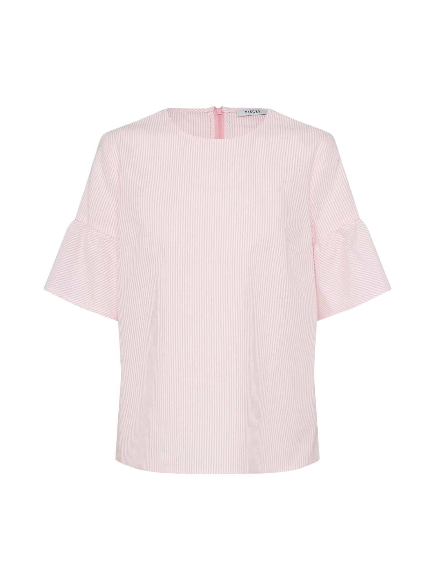 Halenka MIRA pink bílá PIECES