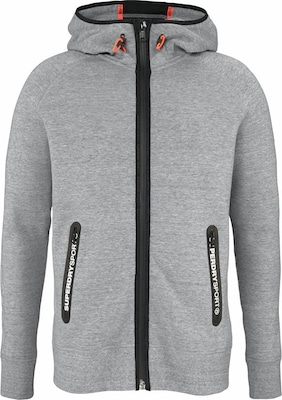 Superdry Kapuzensweatjacke 'GYM TECH ZIPHOOD'