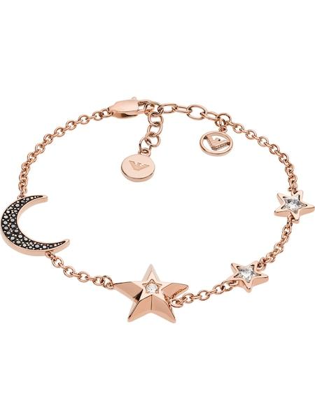 Armbaender für Frauen - Emporio Armani Armband rosegold schwarz weiß  - Onlineshop ABOUT YOU