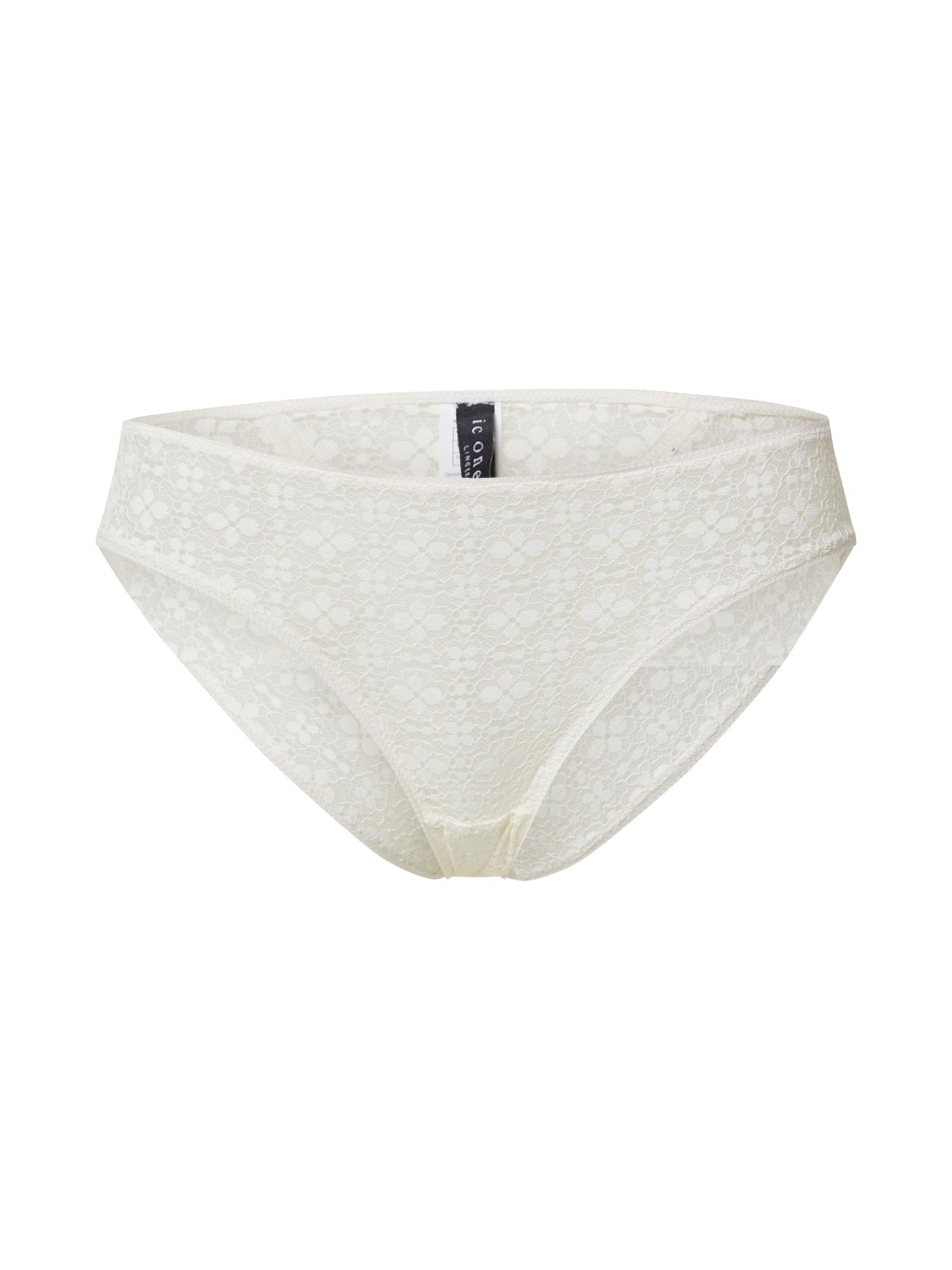 Icone Lingerie Kalhotky 'MERIDA'  krémová