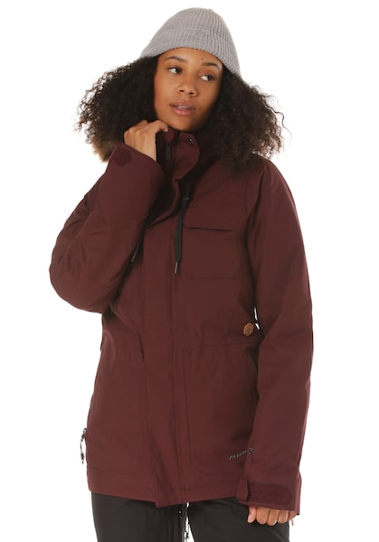 Jacken - Snowboardjacke 'Shadow Ins' › Volcom › karminrot  - Onlineshop ABOUT YOU