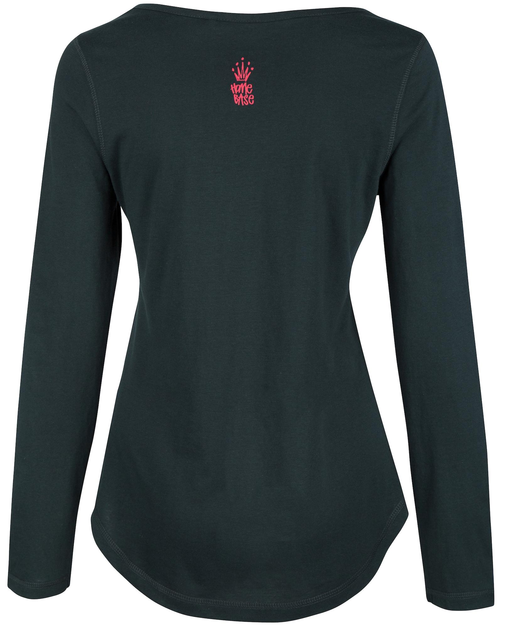 HOMEBASE, Damen Shirt Brandalised, groen / spar / donkergroen