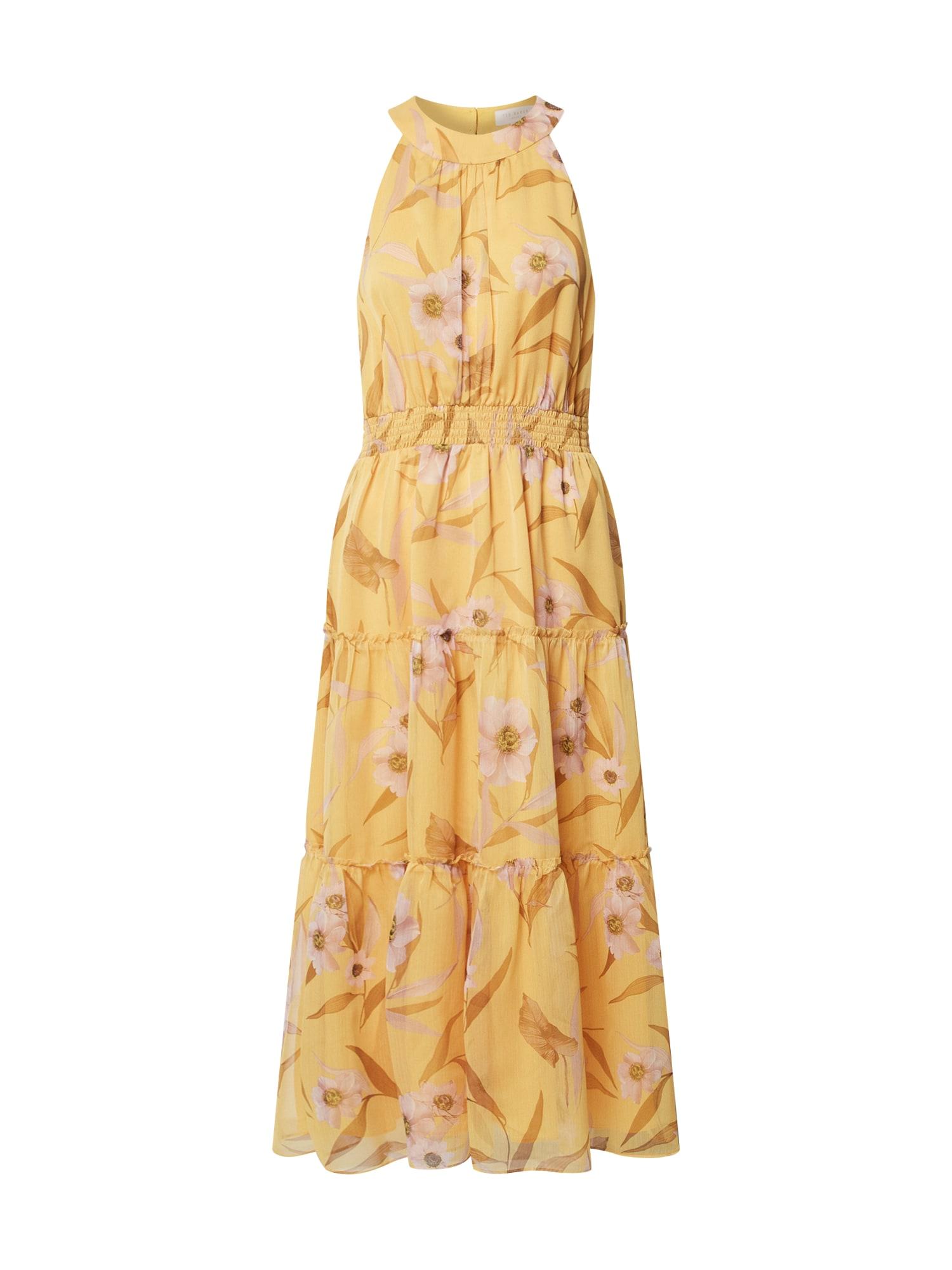 Ted Baker Nyári ruhák 'Saffine'  sárga