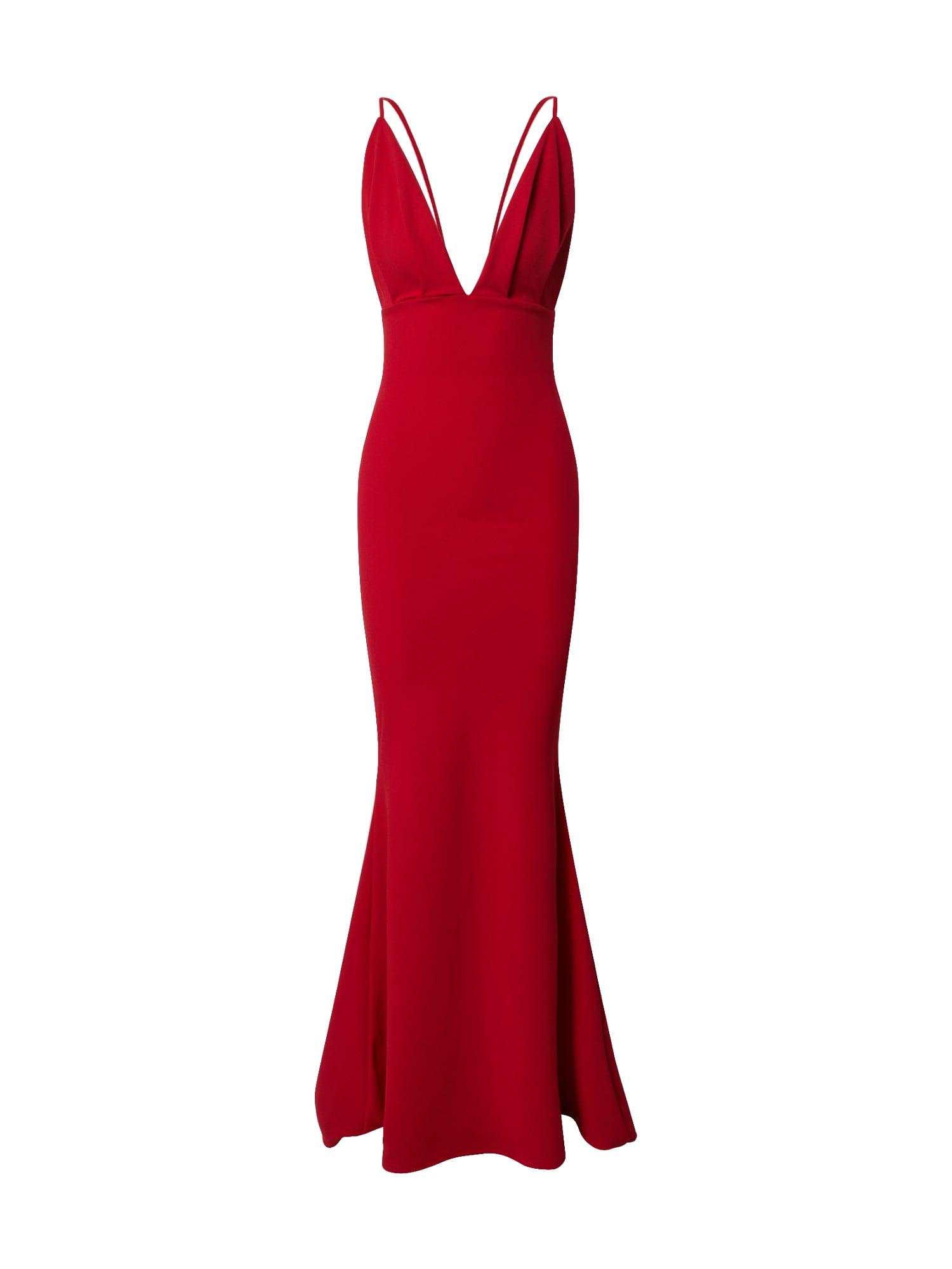 Missguided Vakarinė suknelė raudona