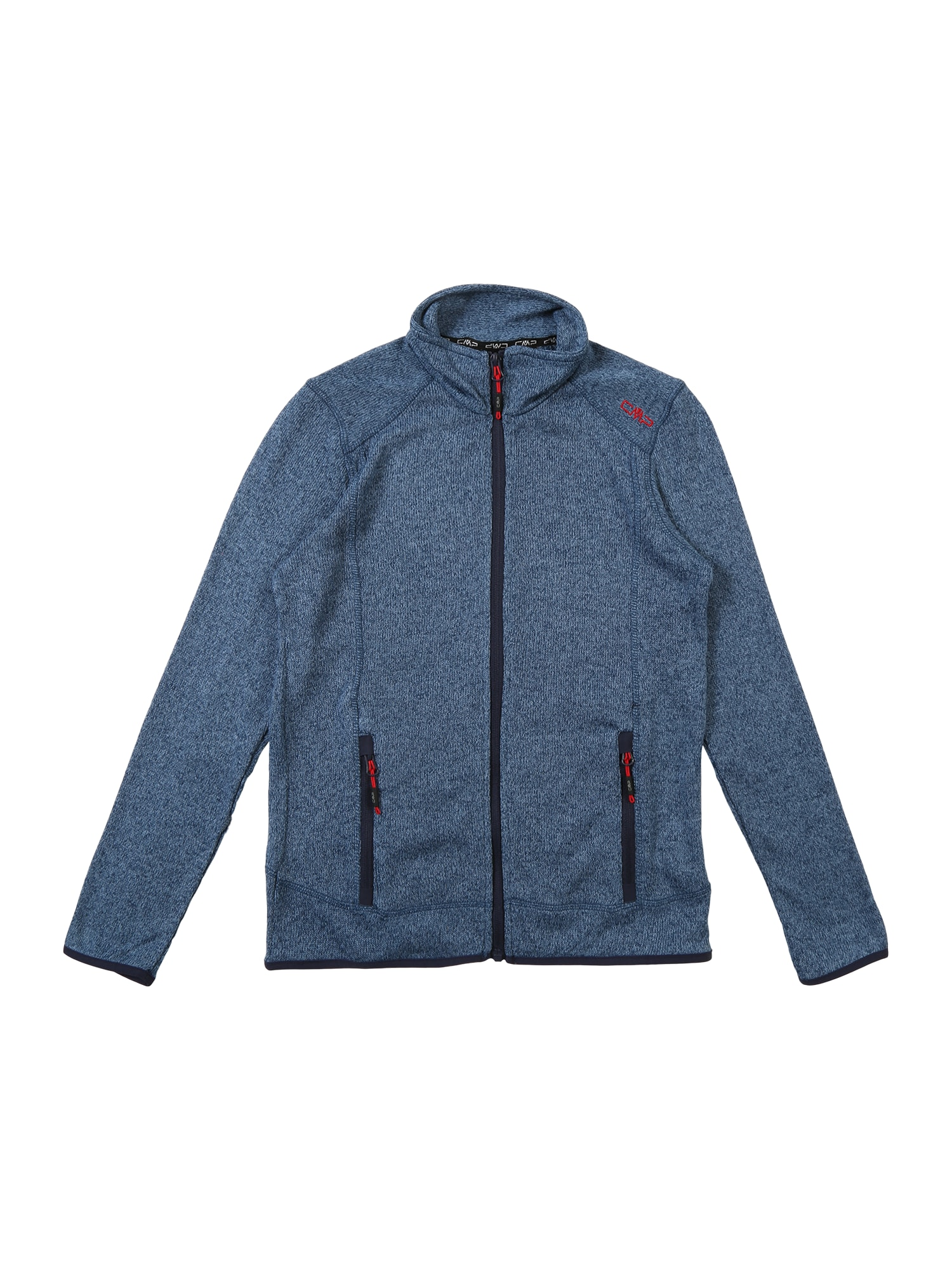 Přechodná bunda tmavě modrá modrý melír CMP