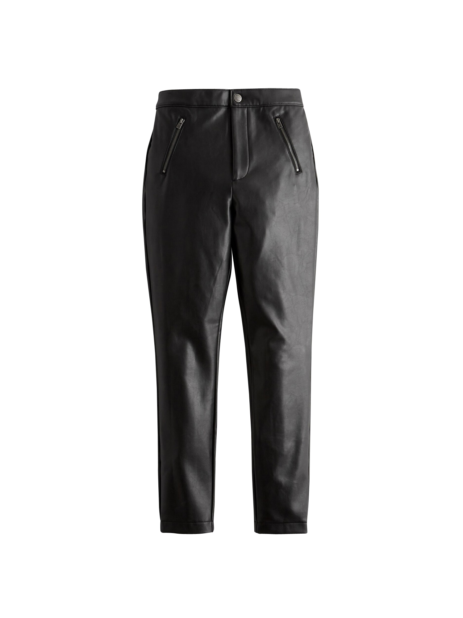 HOLLISTER Kelnės 'LEATHER SUPERSKINNY 1CC' juoda