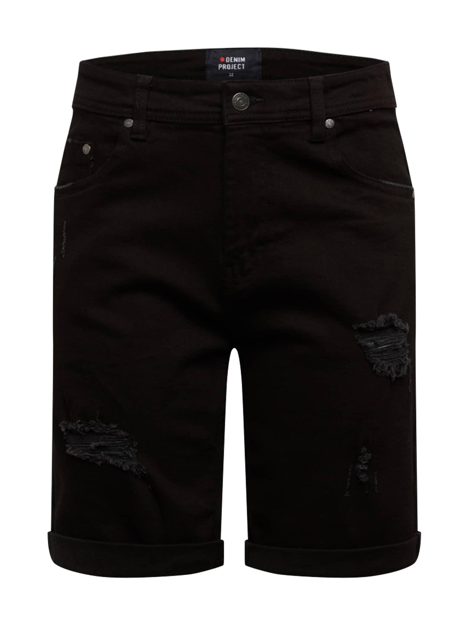 Denim Project Džinsai 'Mr. Orange' juodo džinso spalva