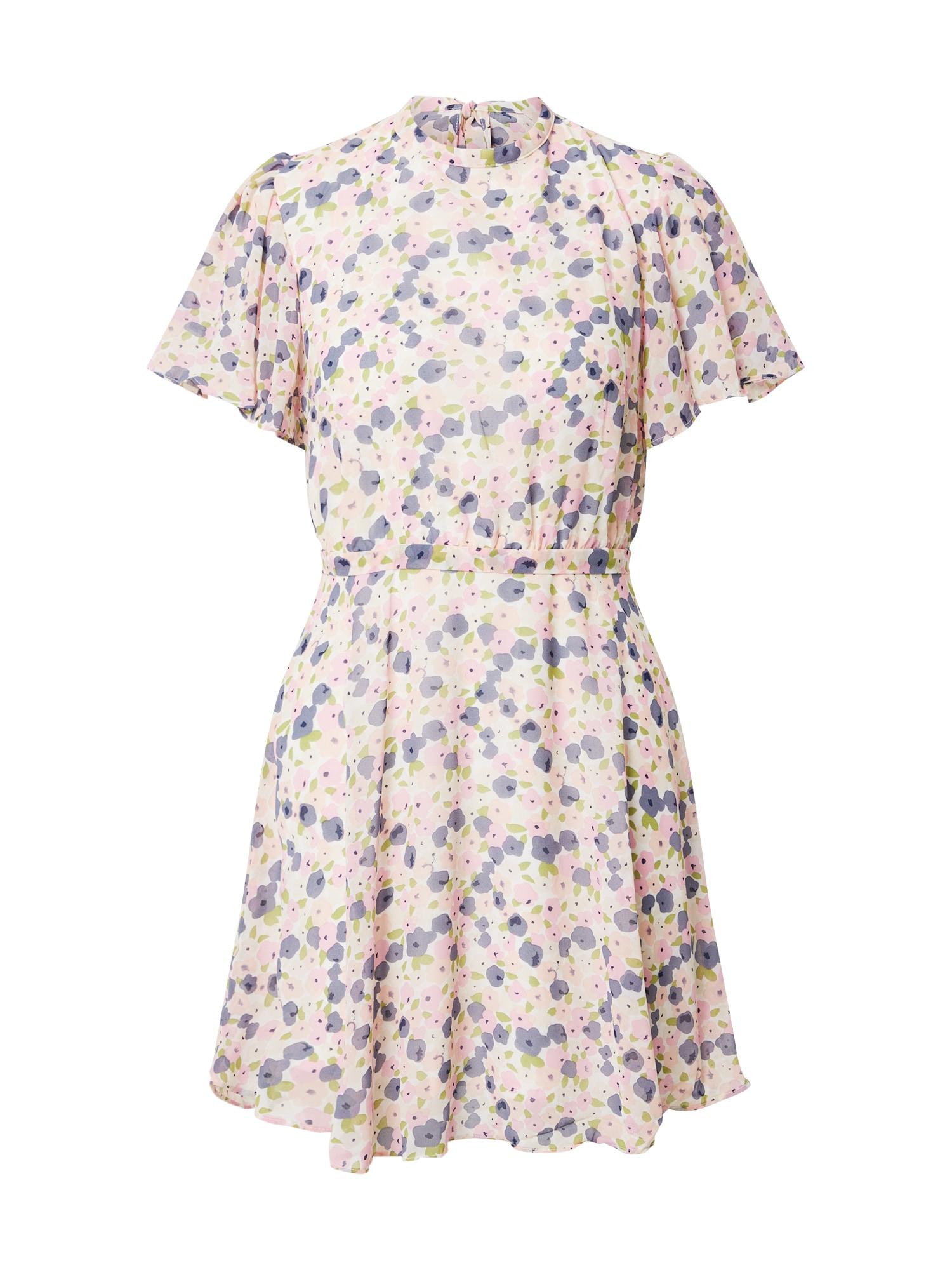 VILA Letné šaty 'VISPLASH'  zmiešané farby