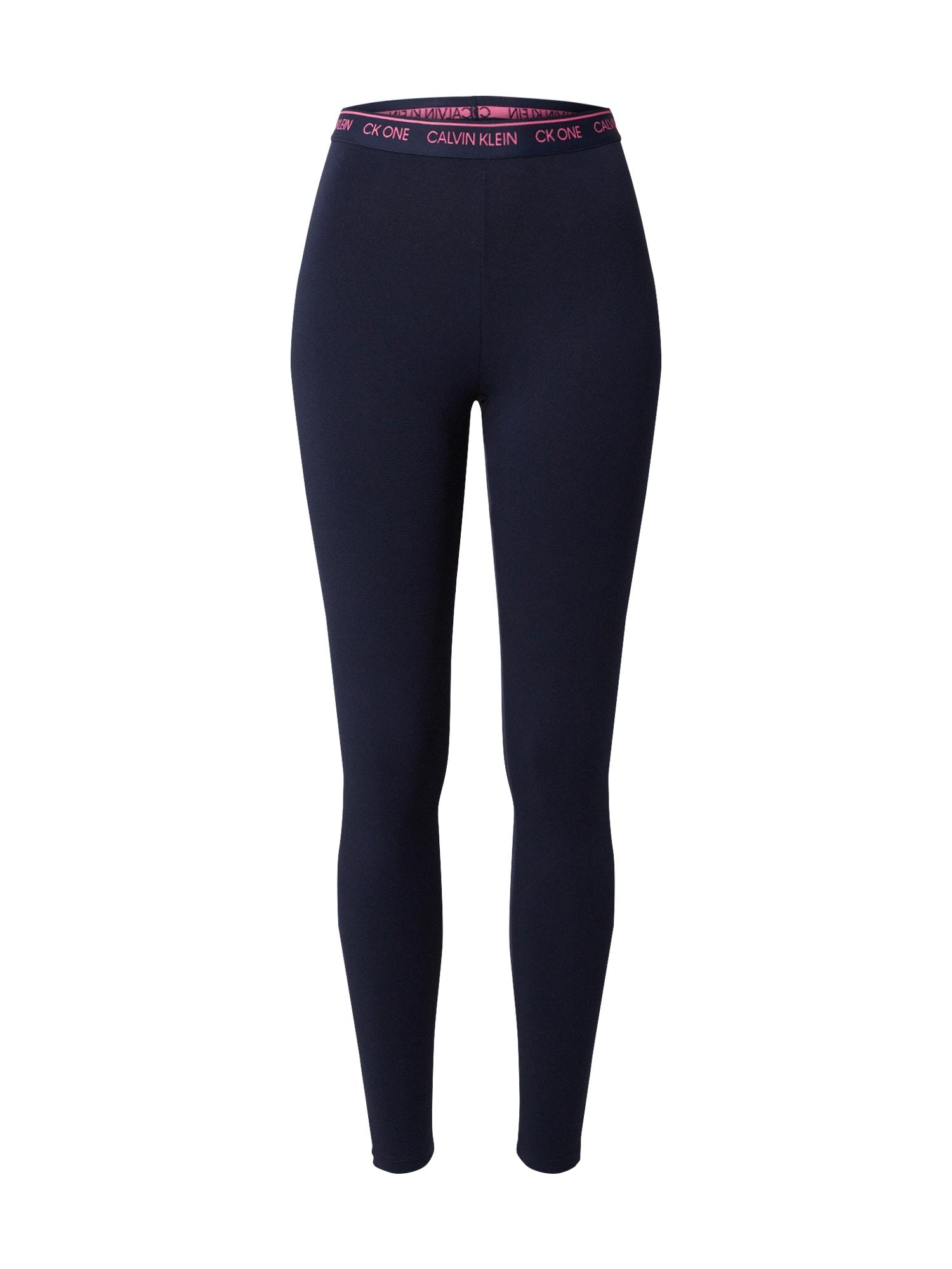 Calvin Klein Underwear Pižaminės kelnės tamsiai mėlyna