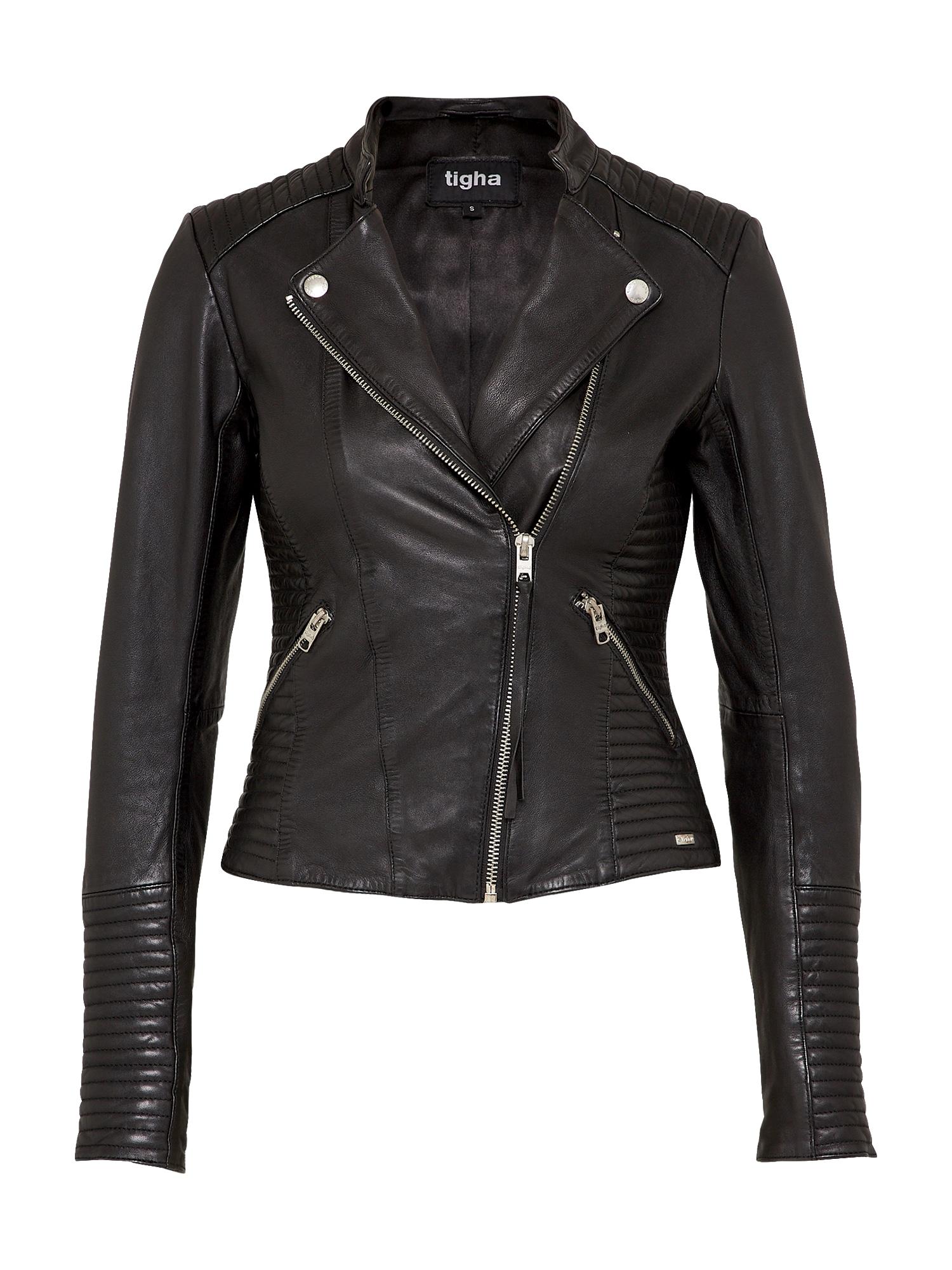 tigha Prechodná bunda 'Nashua'  čierna