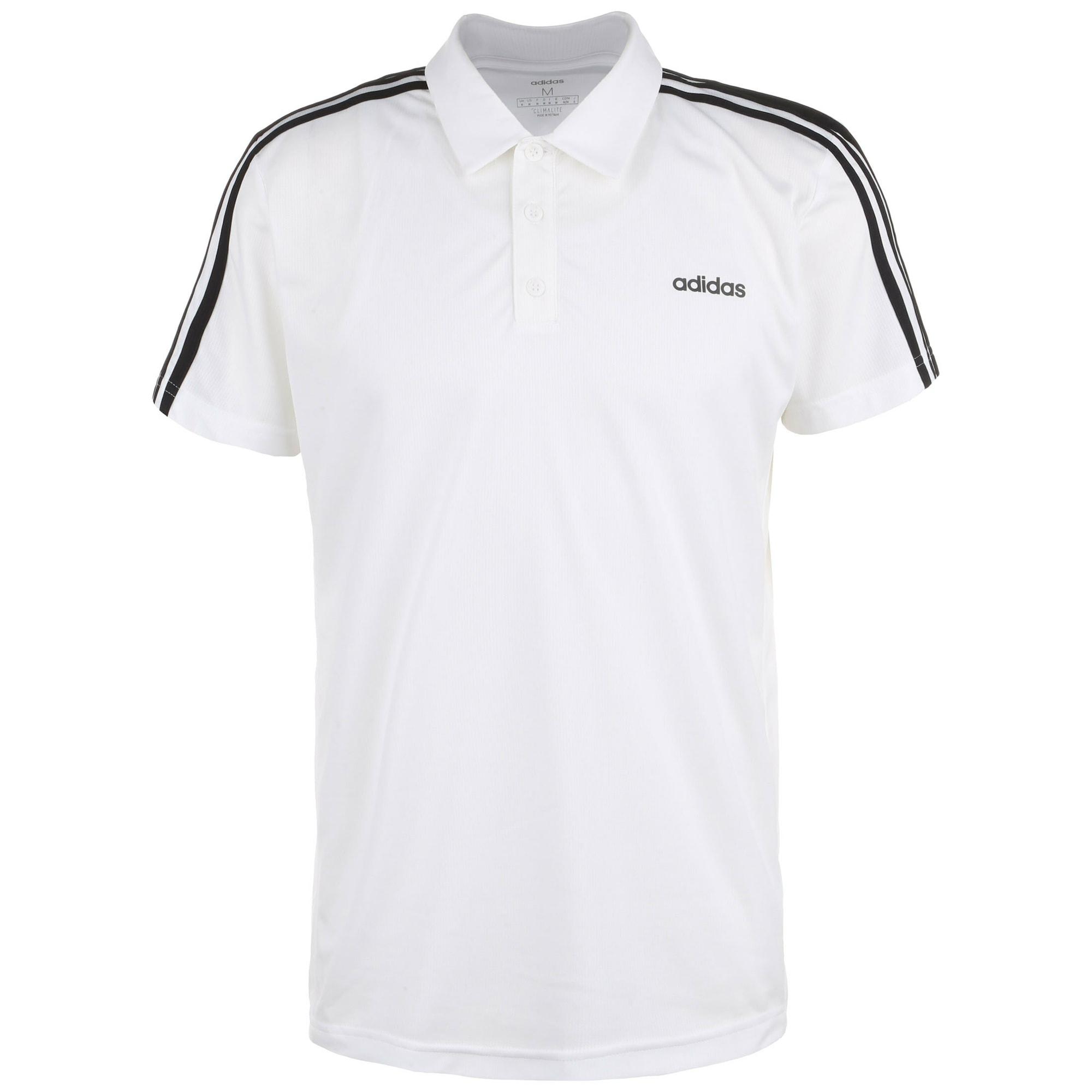 ADIDAS PERFORMANCE Funkční tričko  bílá / černá