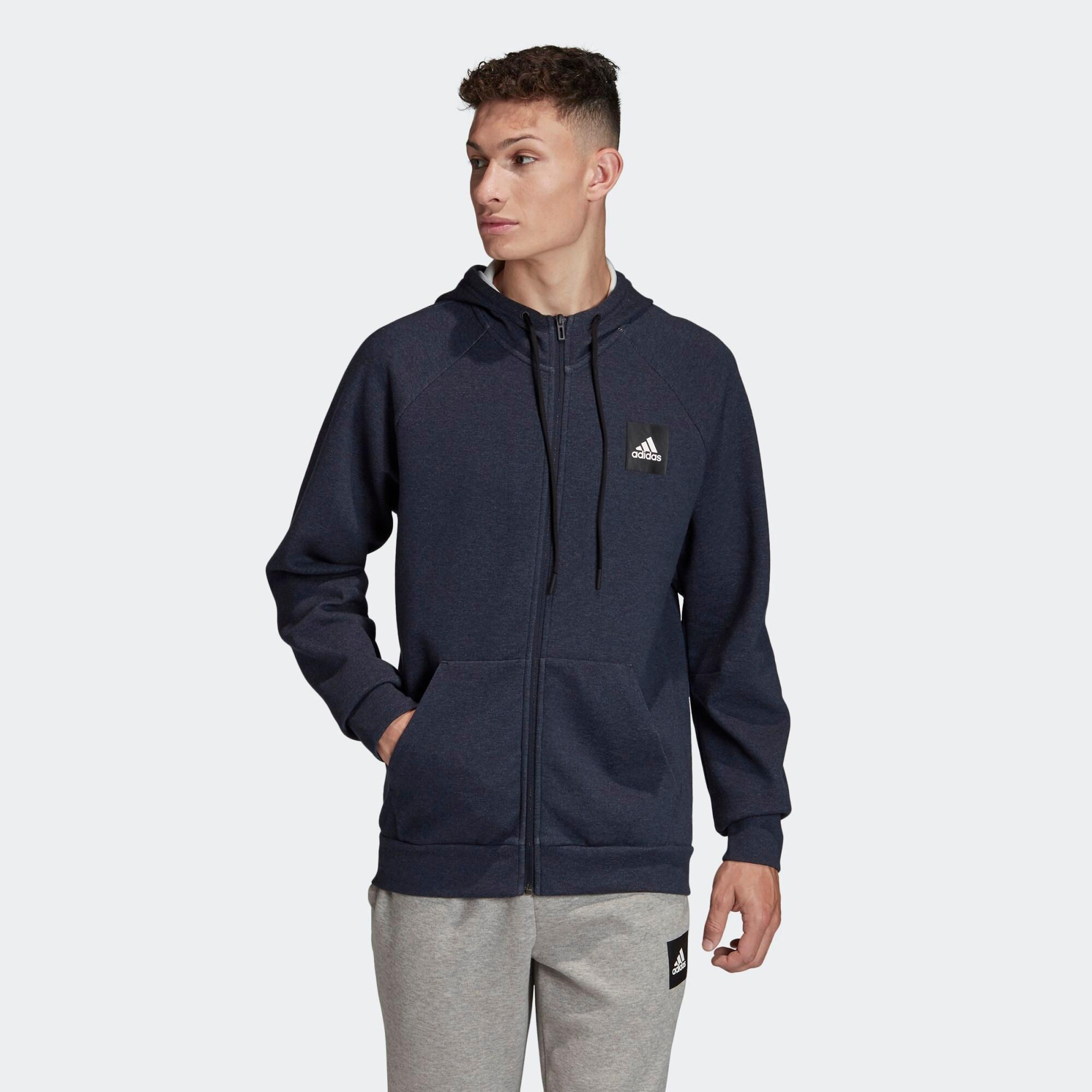 ADIDAS PERFORMANCE Sportinis džemperis tamsiai mėlyna