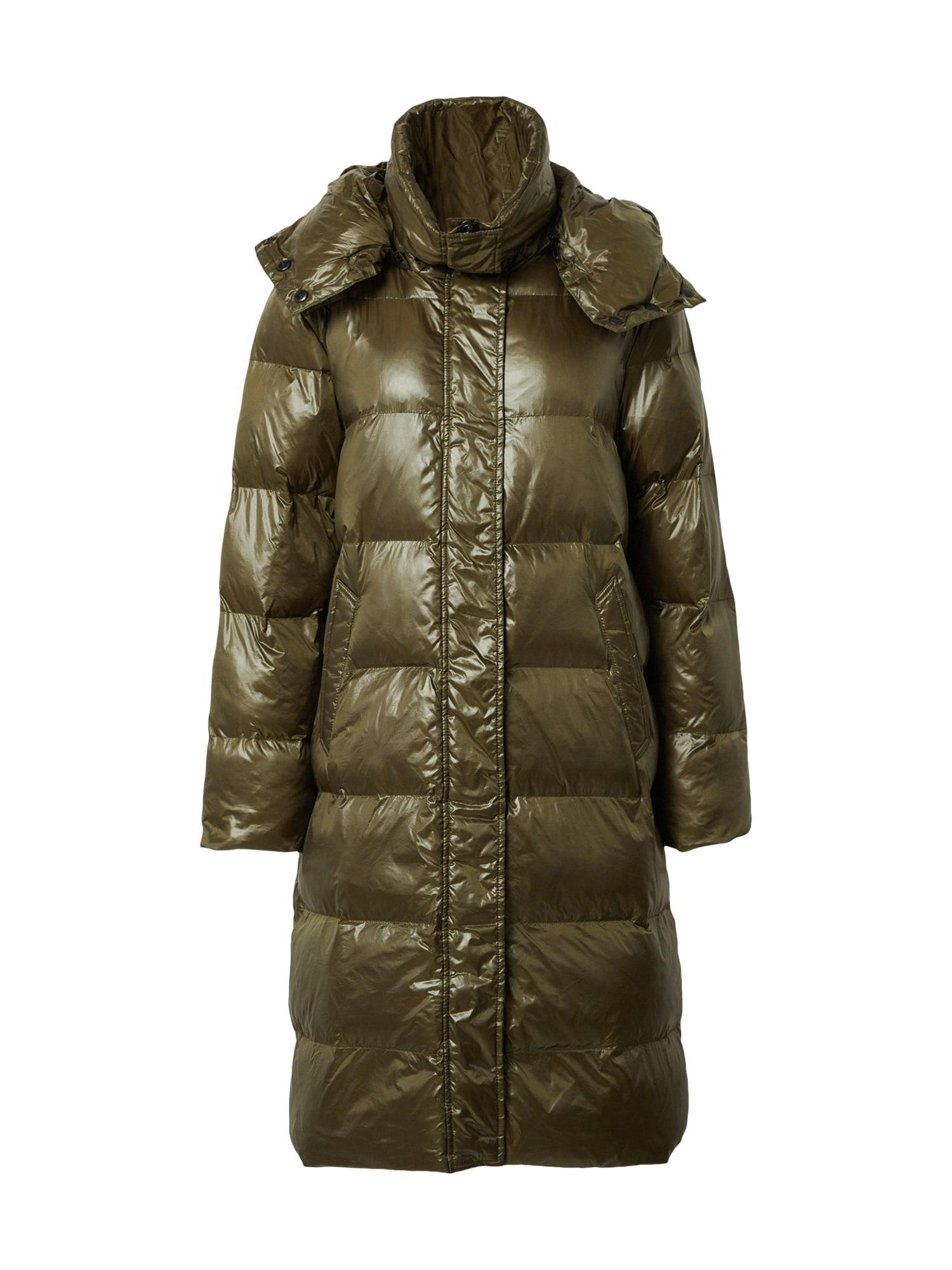 Canadian Classics Žieminis paltas 'Charlotte' rusvai žalia