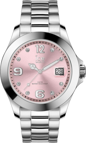 Uhren für Frauen - ICE WATCH Uhr 'Ice Steel Classic' hellpink silber  - Onlineshop ABOUT YOU