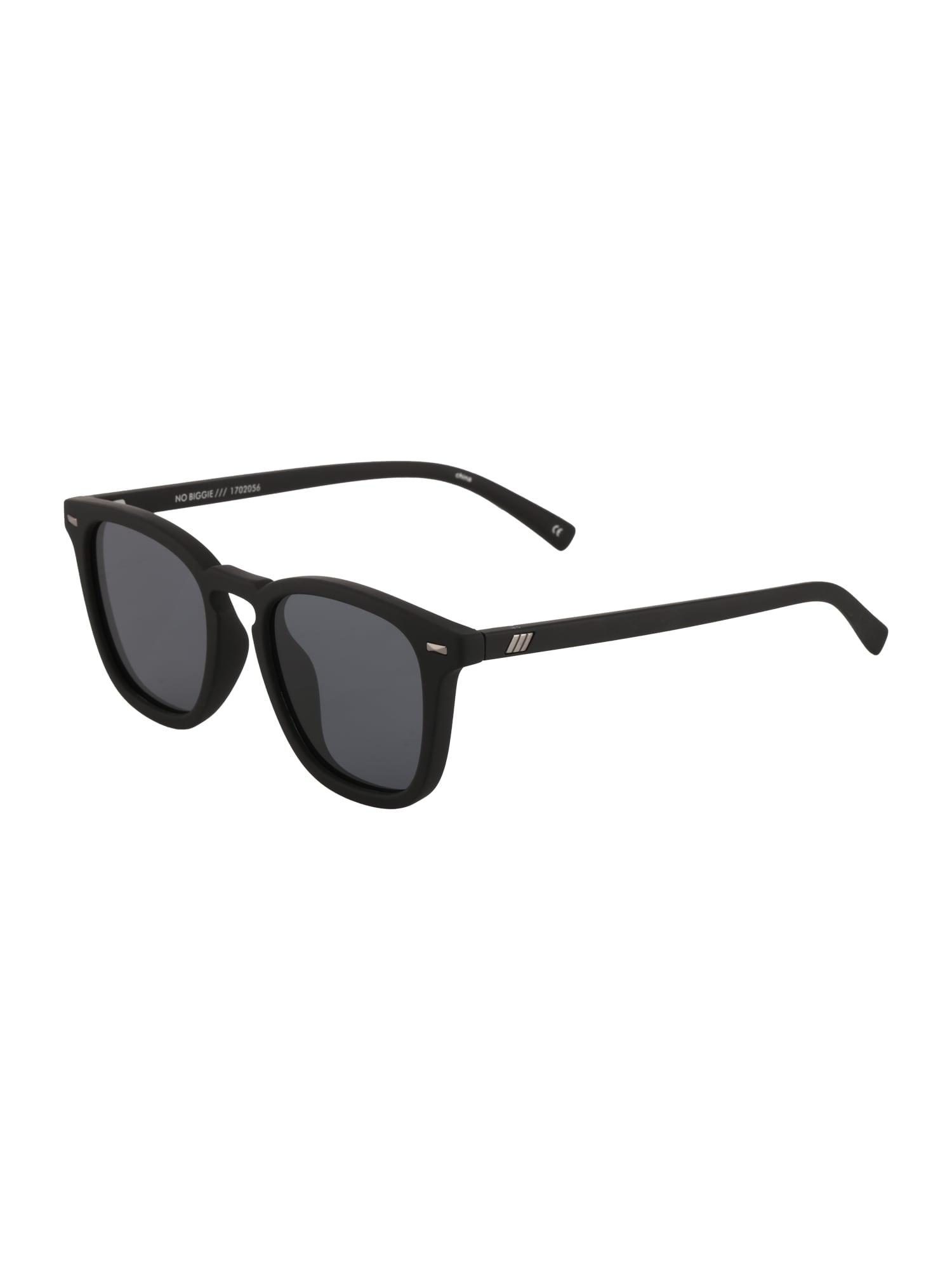 LE SPECS Slnečné okuliare 'NO BIGGIE'  čierna