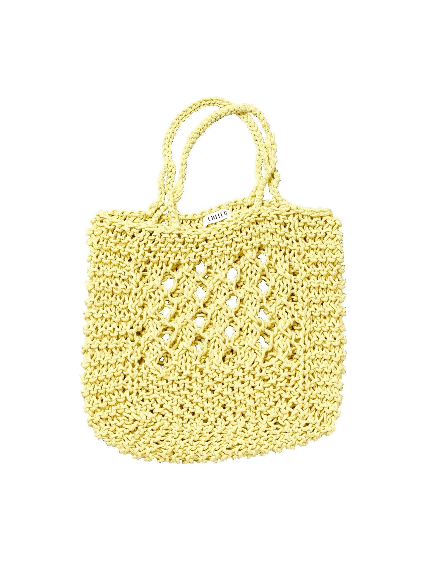 EDITED Pirkinių krepšys 'Leycie' geltona