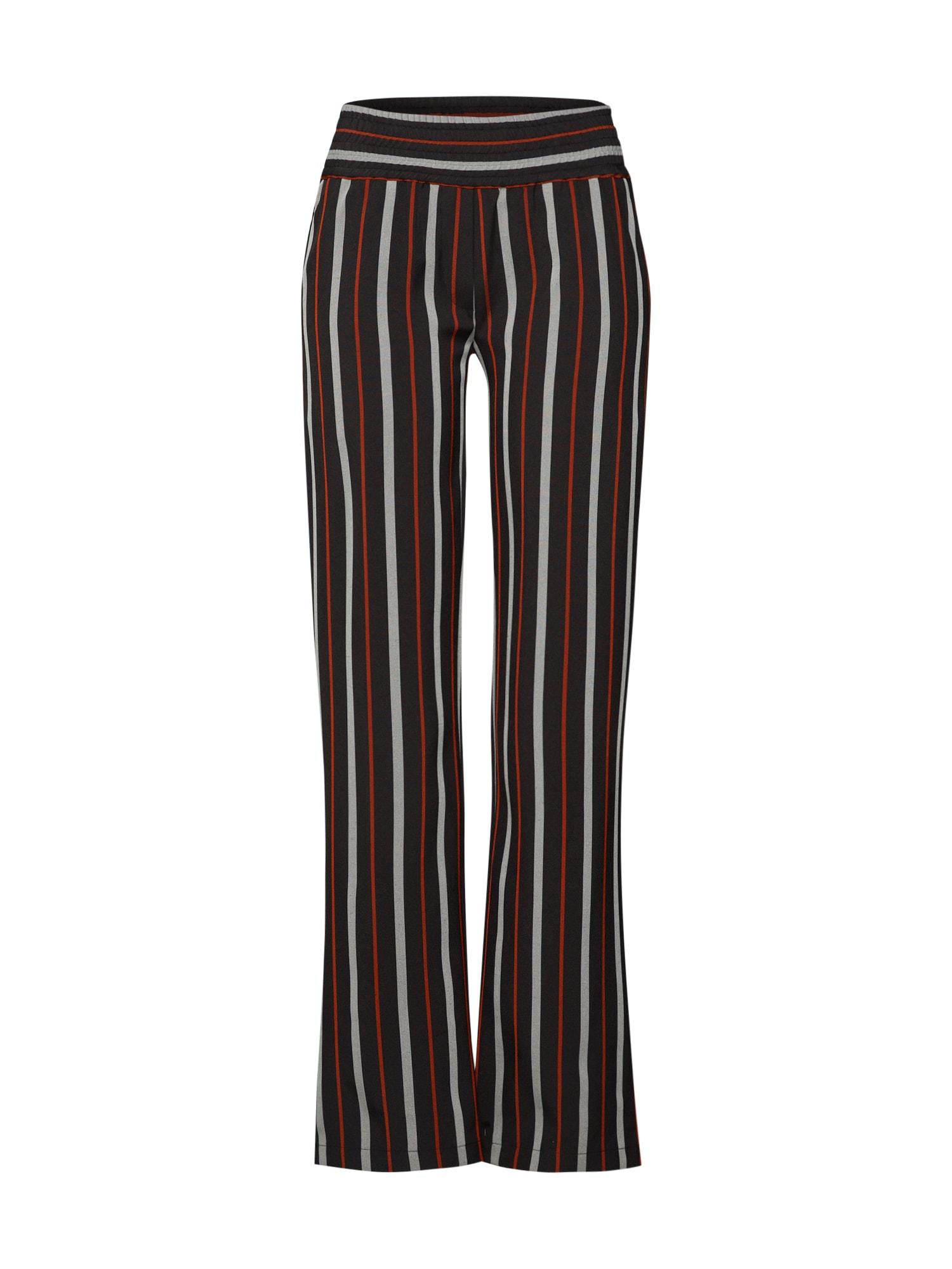 Kalhoty Richelieu merlot černá Another Label