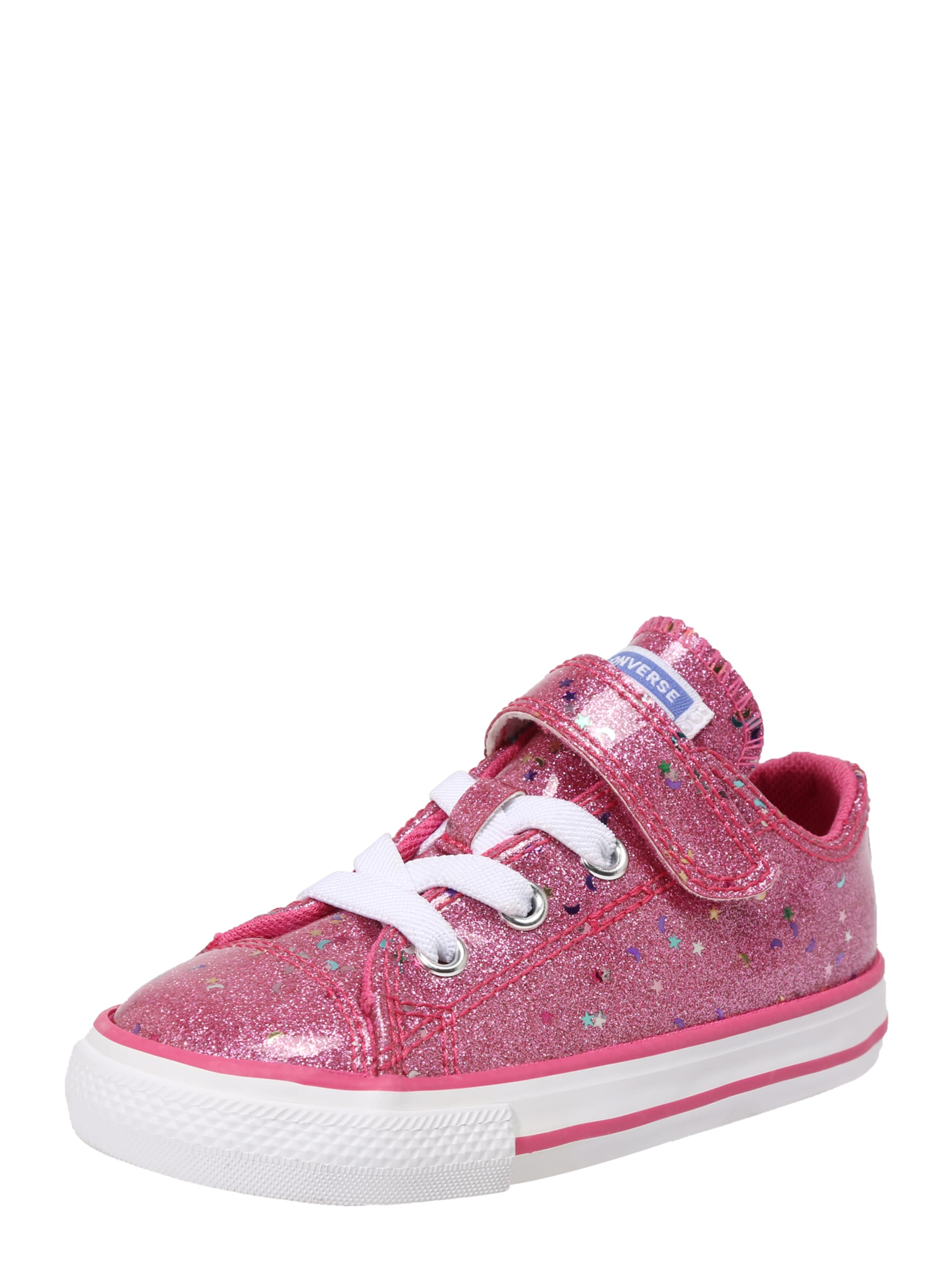 Kinder,  Mädchen,  Kinder Converse Sneaker 'Galaxy glimme' rosa | 00888757187706