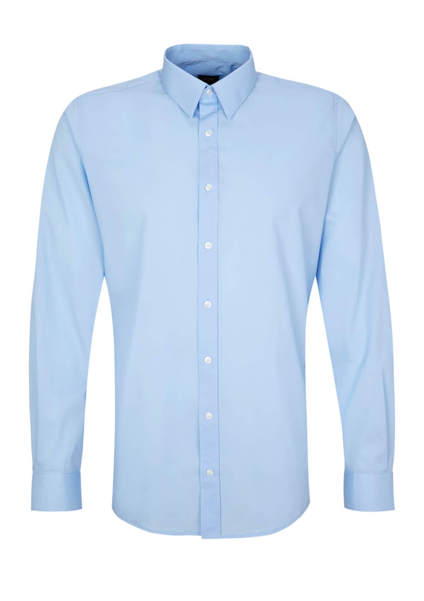 s.Oliver BLACK LABEL Marškiniai šviesiai mėlyna